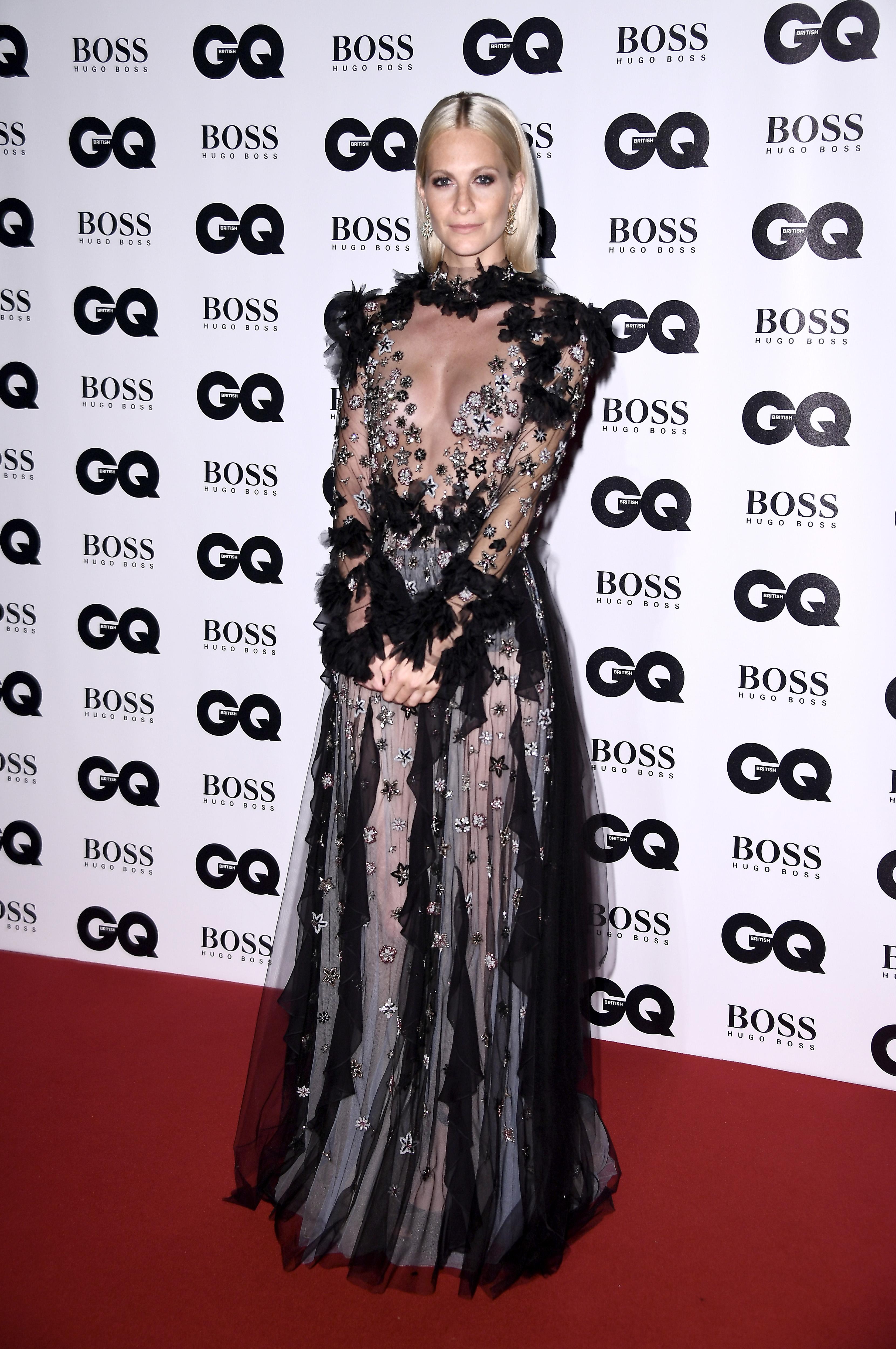 Engleska manekenka i glumica Poppy Delevingne u haljini Reem Acra