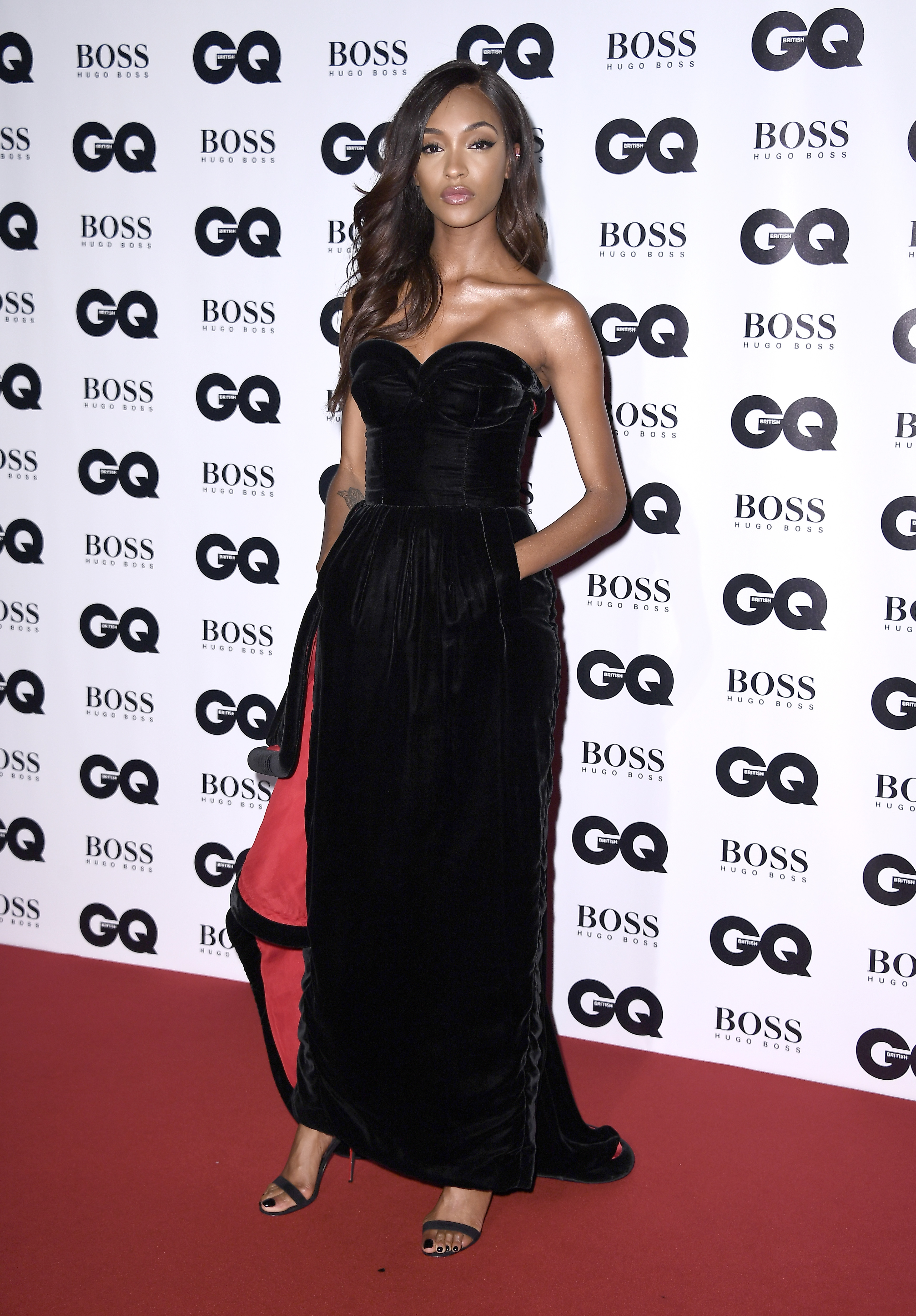 LONDON, ENGLAND - SEPTEMBER 05:  Jourdan Dunn attends the GQ Men Of The Year Awards at the Tate Modern on September 5, 2017 in London, England.  (Photo by Gareth Cattermole/Getty Images)