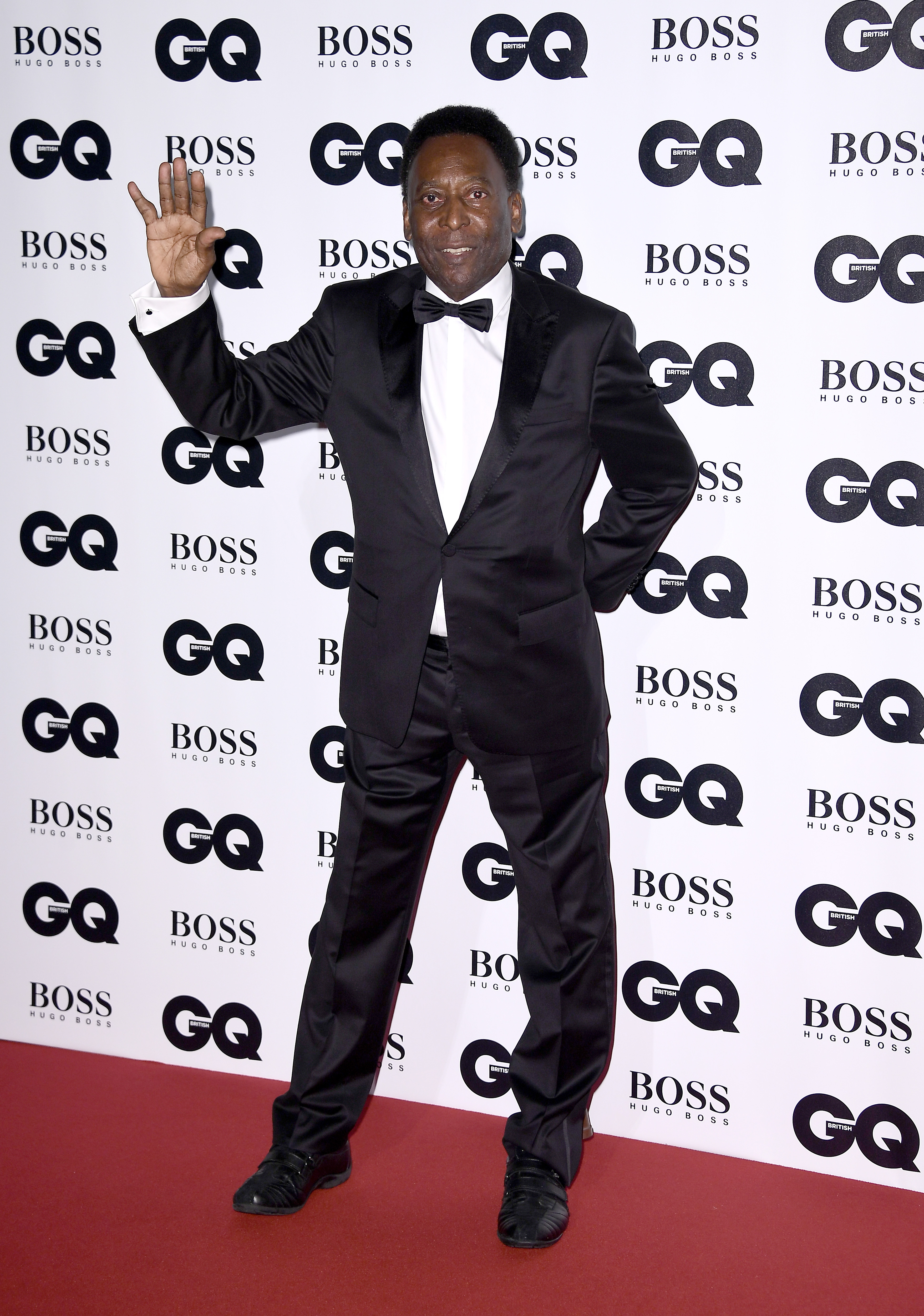 LONDON, ENGLAND - SEPTEMBER 05:  Pele attends the GQ Men Of The Year Awards at the Tate Modern on September 5, 2017 in London, England.  (Photo by Gareth Cattermole/Getty Images)
