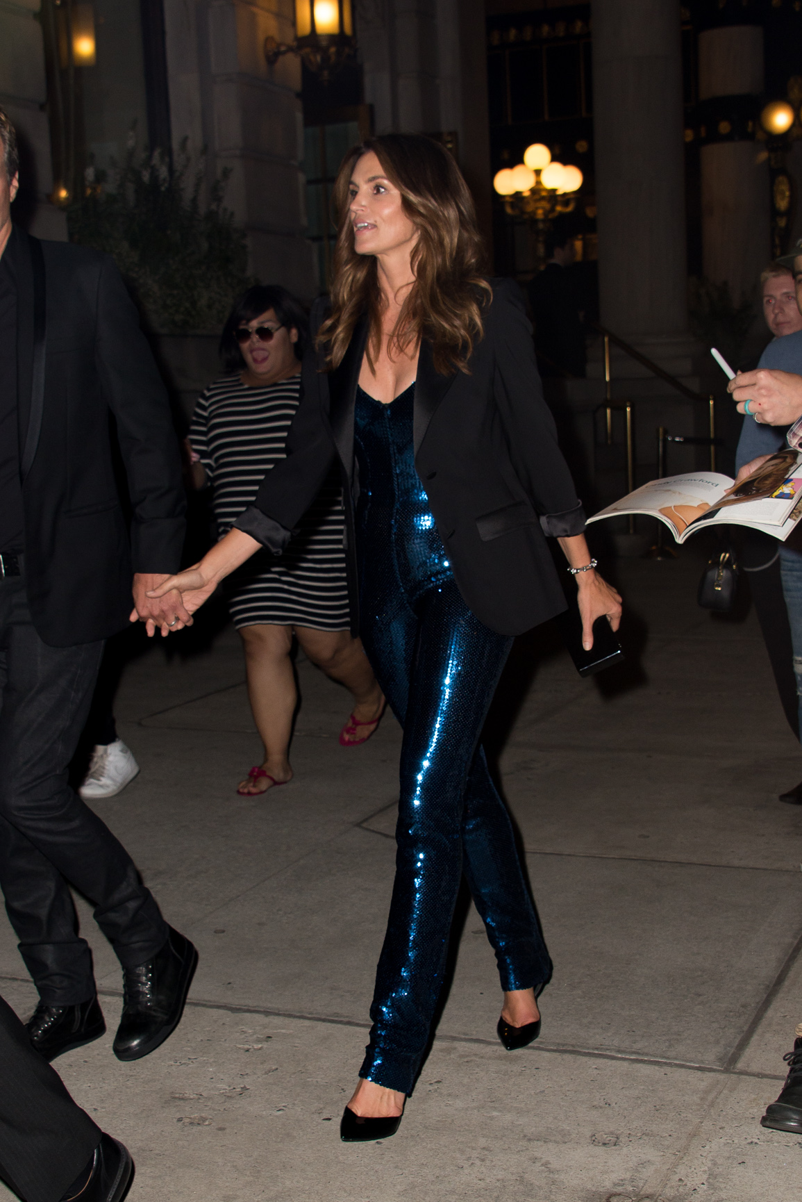 Celebrities spotted leaving the Harper's Bazaar Icons Party in New York City, New York. <P> Pictured: Coindy Crawford <B>Ref: SPL1572727  080917  </B><BR/> Picture by: Matt Brandt / Splash News<BR/> </P><P> <B>Splash News and Pictures</B><BR/> Los Angeles:310-821-2666<BR/> New York:212-619-2666<BR/> London:870-934-2666<BR/> <span id=