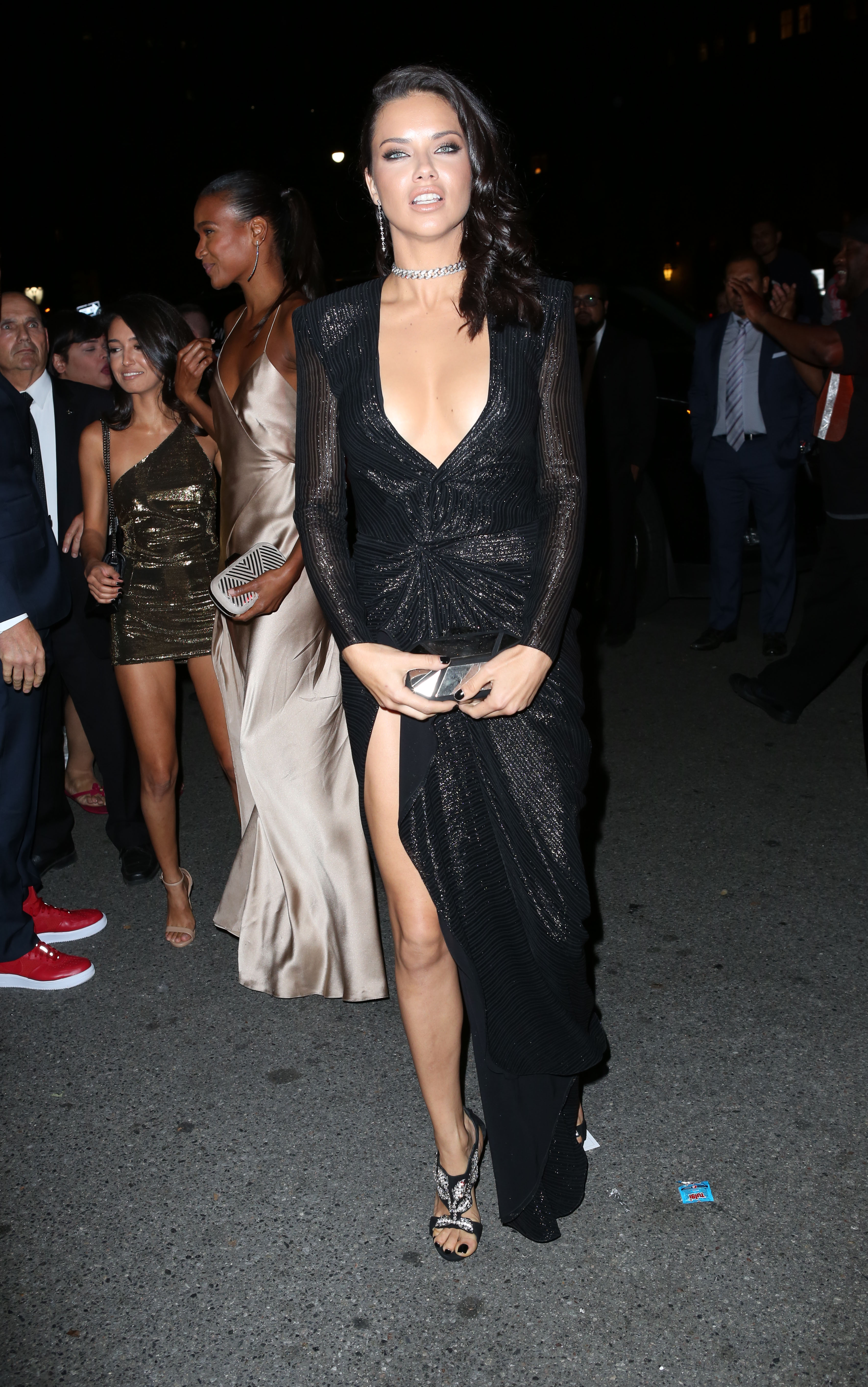 Harper's BAZAAR Celebrates 'ICONS By Carine Roitfeld' in NYC <P> Pictured: Adriana Lima <B>Ref: SPL1572808  090917  </B><BR/> Picture by: Richard Buxo / Splash News<BR/> </P><P> <B>Splash News and Pictures</B><BR/> Los Angeles:310-821-2666<BR/> New York:212-619-2666<BR/> London:870-934-2666<BR/> <span id=