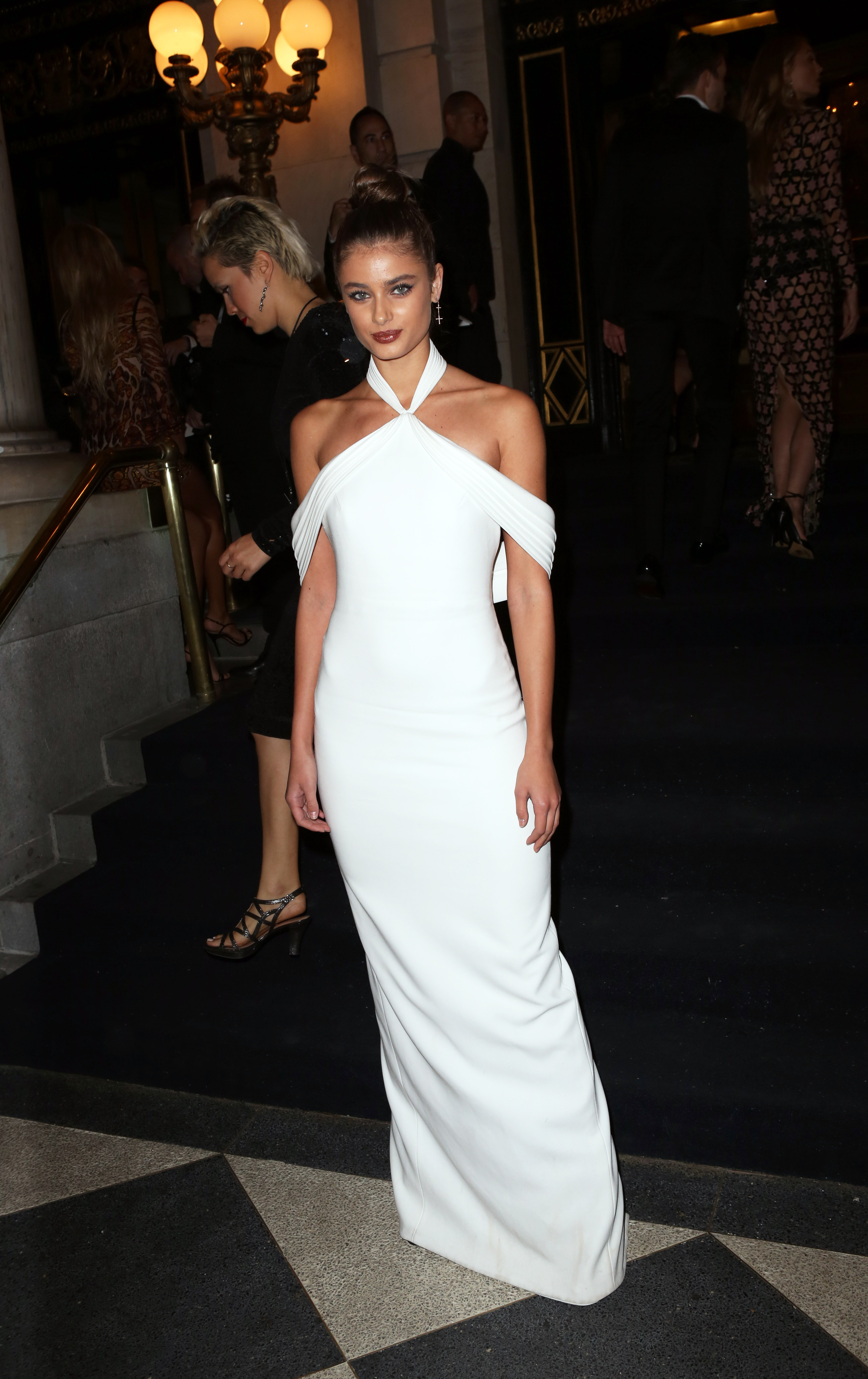 Harper's BAZAAR Celebrates 'ICONS By Carine Roitfeld' in NYC <P> Pictured: Taylor Hill <B>Ref: SPL1572808  090917  </B><BR/> Picture by: Richard Buxo / Splash News<BR/> </P><P> <B>Splash News and Pictures</B><BR/> Los Angeles:310-821-2666<BR/> New York:212-619-2666<BR/> London:870-934-2666<BR/> <span id=