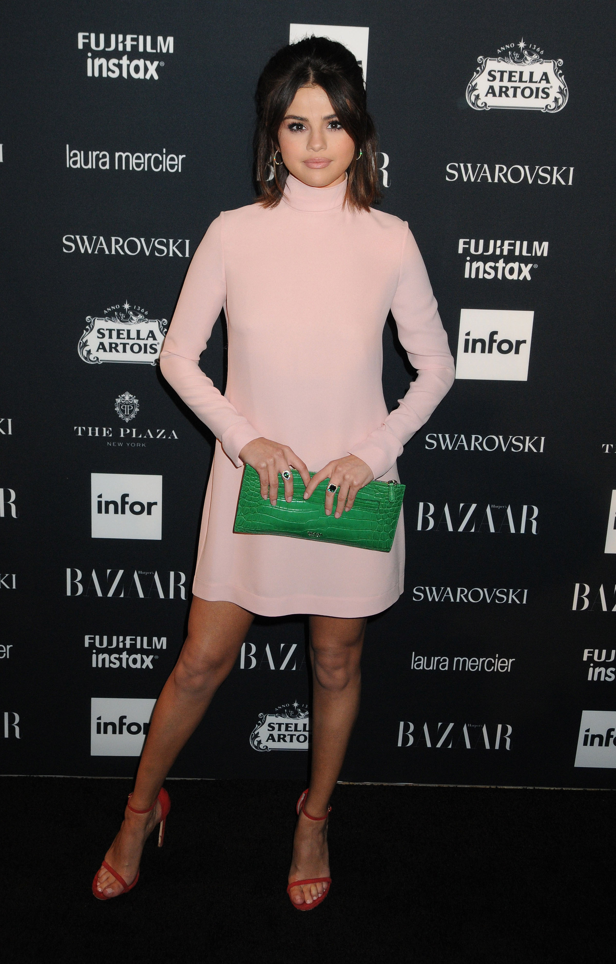 Selena Gomez and The Weeknd arrives to the 2017 Harper's Bazaar Icons - New York <P> Pictured: Selena Gomez <B>Ref: SPL1572867  080917  </B><BR/> Picture by: Johns PkI / Splash News<BR/> </P><P> <B>Splash News and Pictures</B><BR/> Los Angeles:310-821-2666<BR/> New York:212-619-2666<BR/> London:870-934-2666<BR/> <span id=
