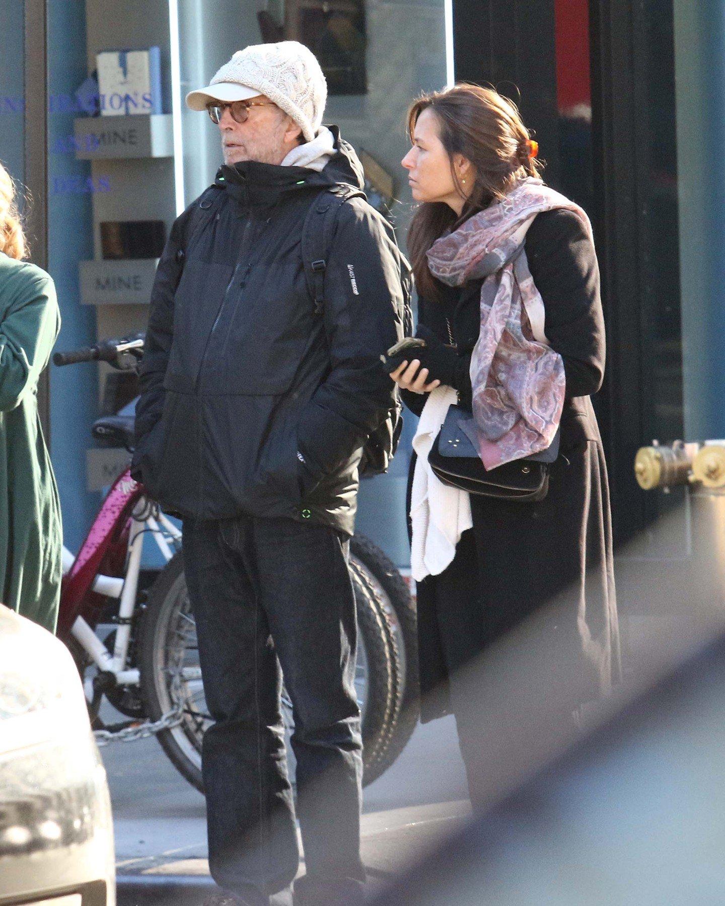 Eric Clapton i supruga Melia McEnery snimljeni nedavno na ulicama New Yorka