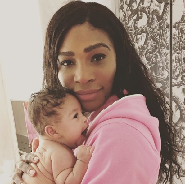Serena i beba