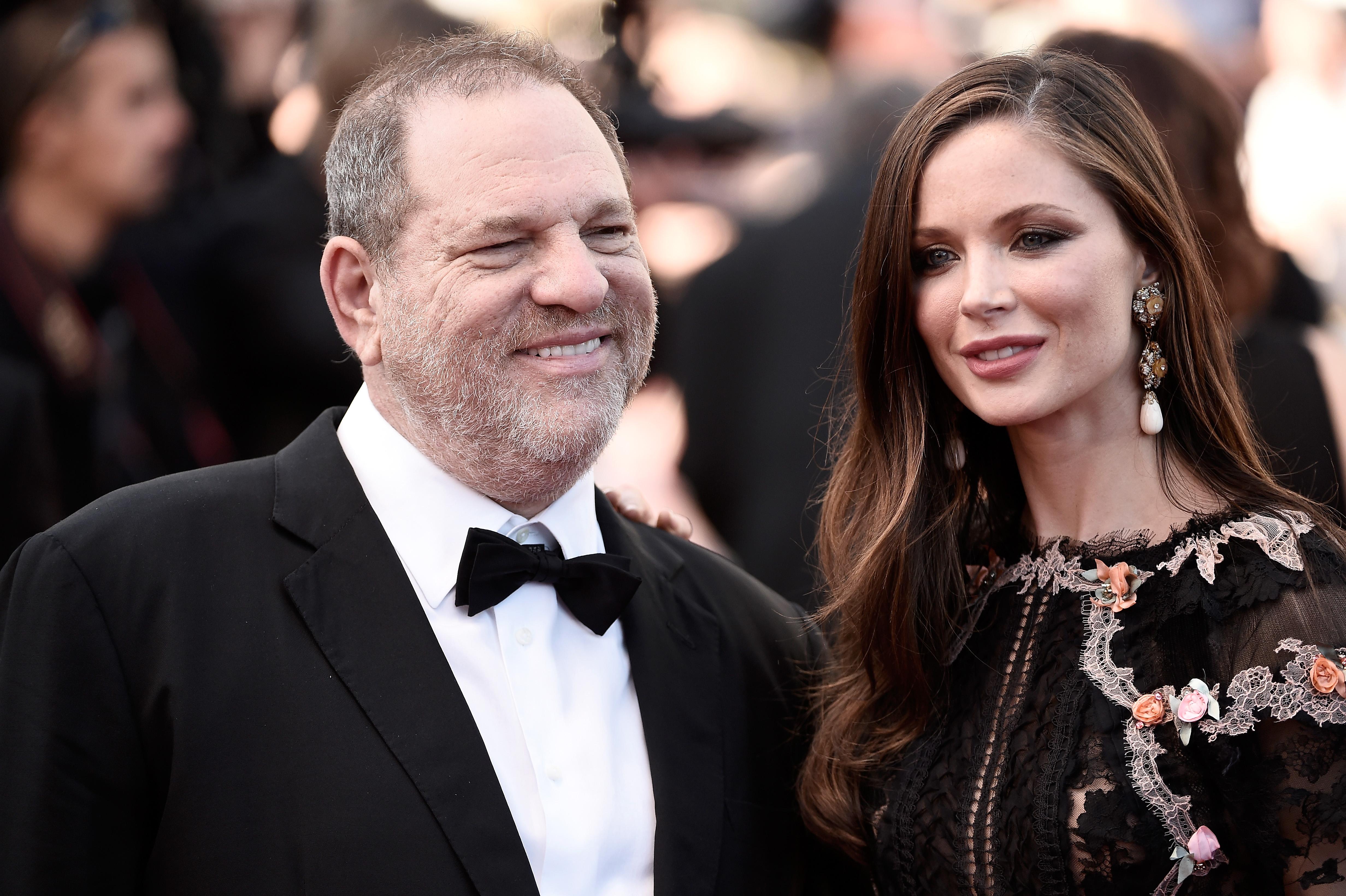 Harvey Weinstein i Georgina Chapman