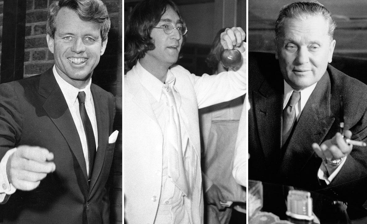 Robert F. Kennedy, John Lennon i Josip Broz Tito