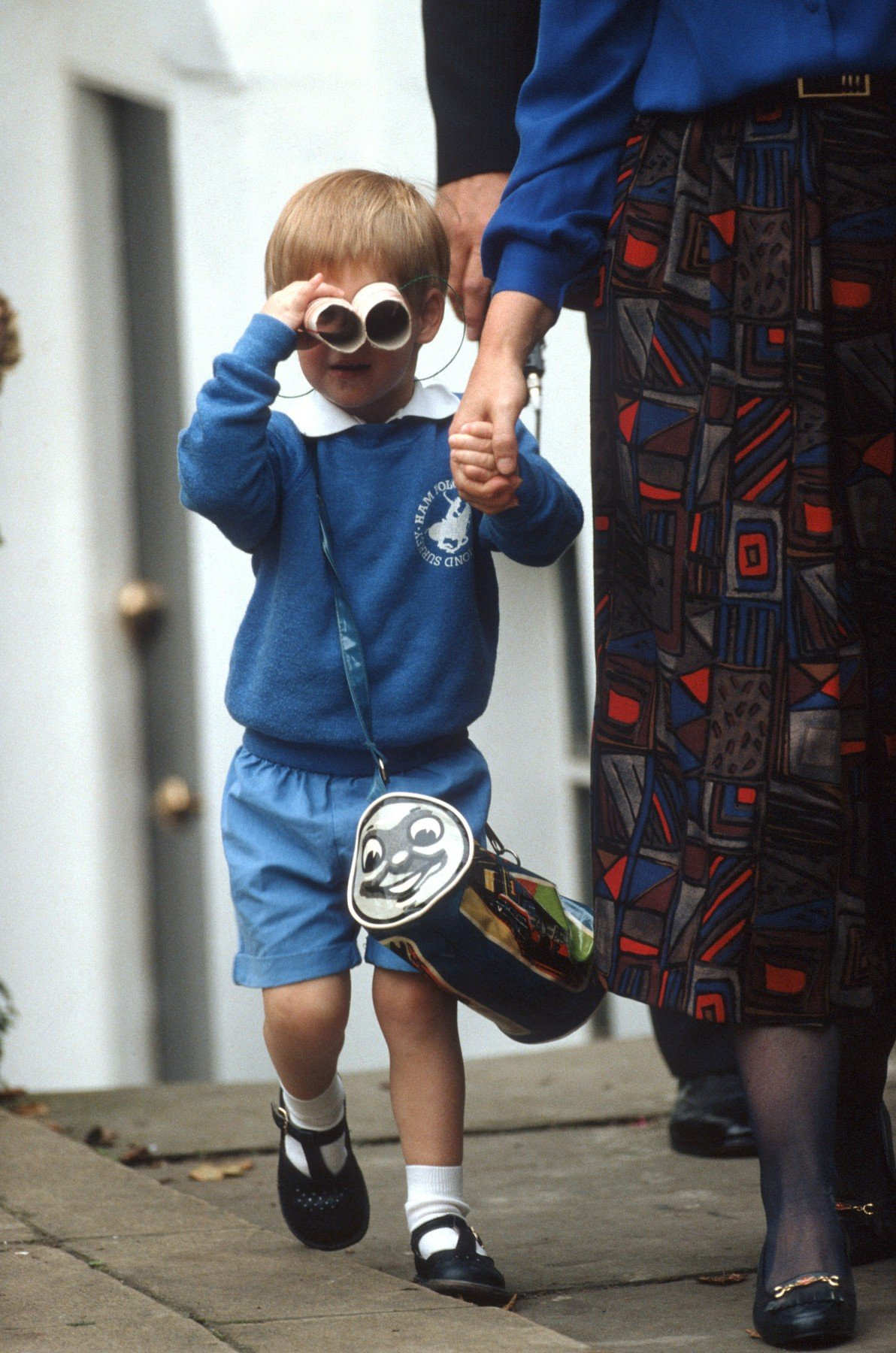 Prince Harry starts nursery school at Mrs Mynor's London, England, Image: 322438331, License: Rights-managed, Restrictions: , Model Release: no, Credit line: Profimedia, Alamy