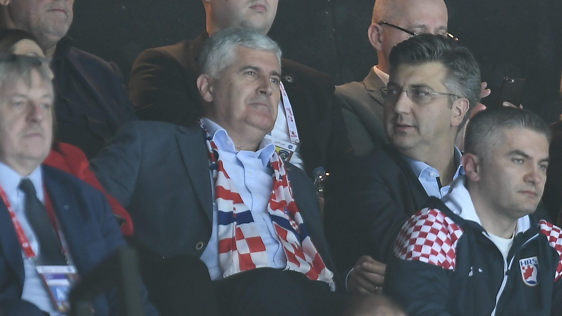 Dragan Čović i Andrej Plenković