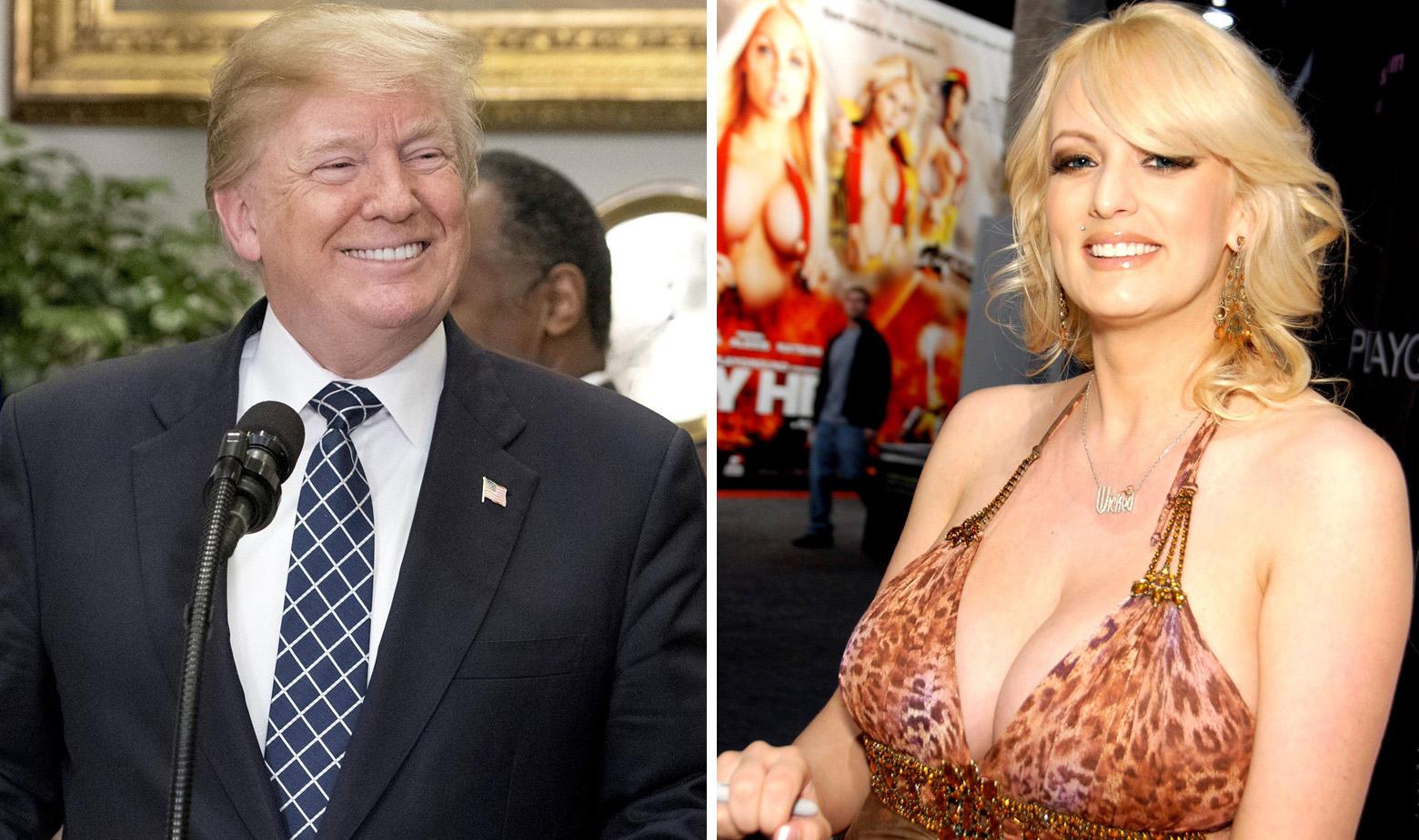 Donald Trump i Stormy Daniels