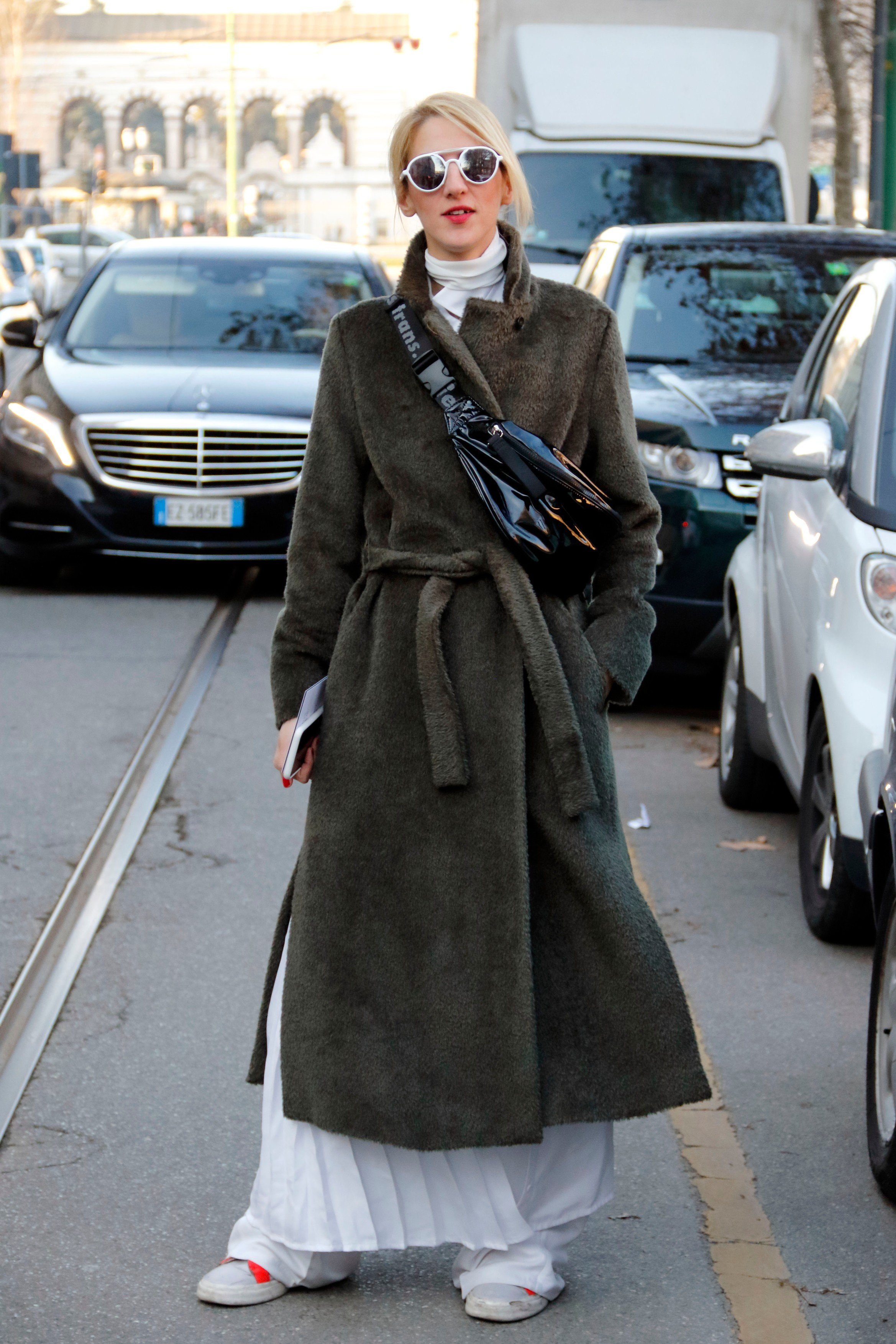 Guest arriving at neil barret fashion show in Milan, Italy, January 13, 2018., Image: 360101262, License: Rights-managed, Restrictions: , Model Release: no, Credit line: Profimedia, Abaca