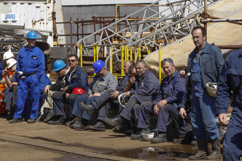 Radnici u škveru Uljanik