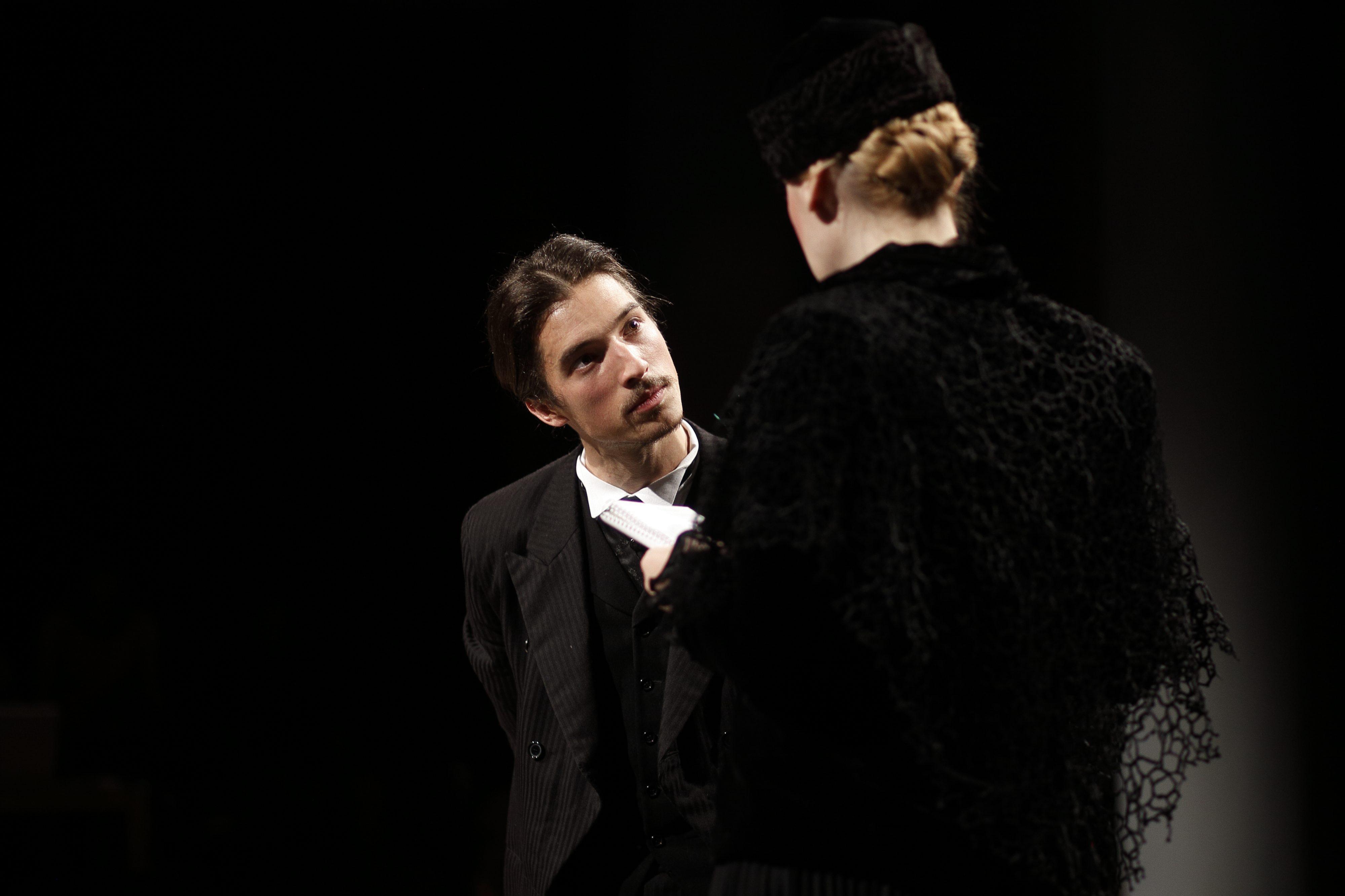 Glumac Marko Petric na generalnog probi predstave 'Tesla Anonimus' u Gavelli
