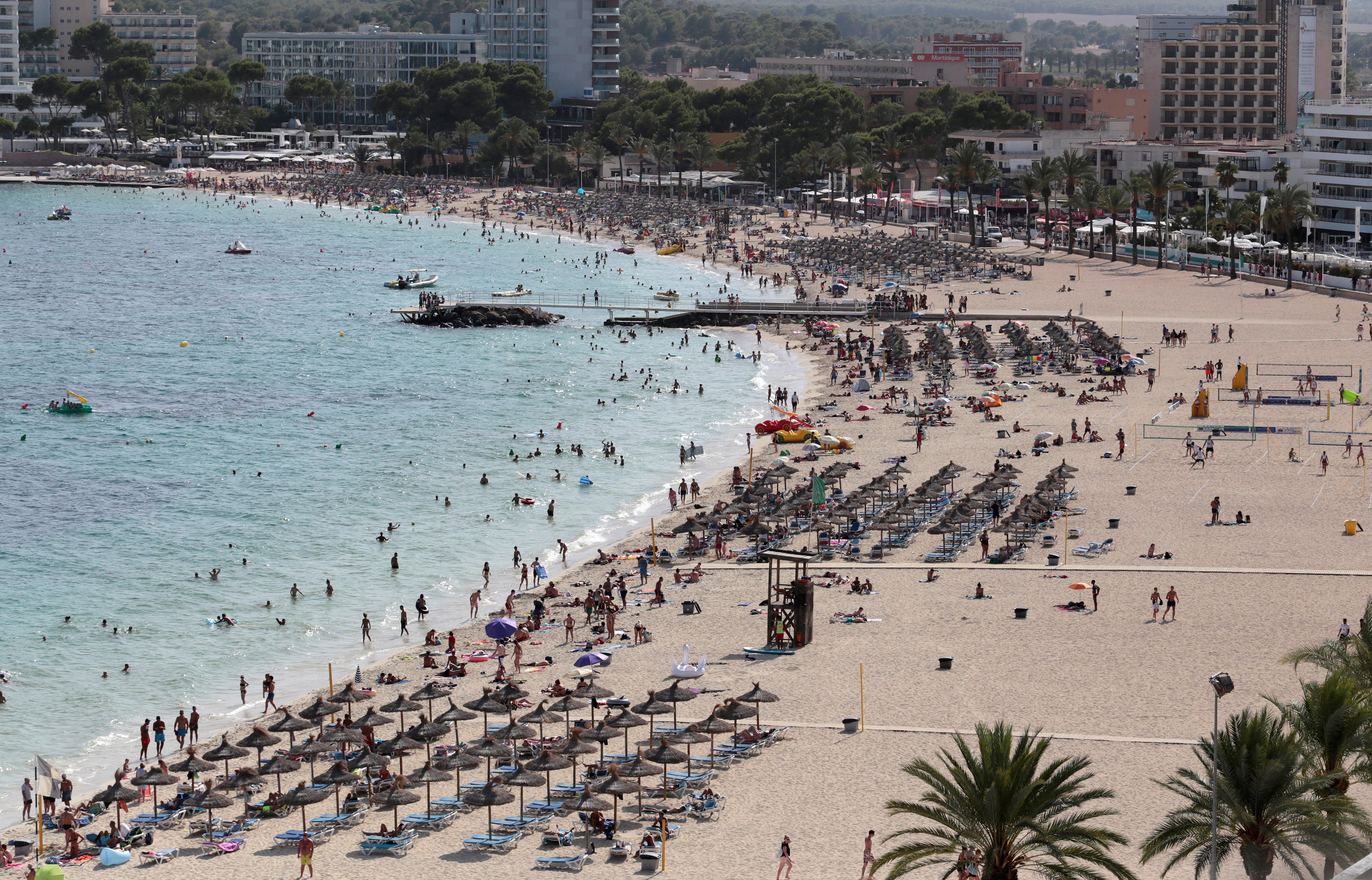 Magaluf na otoku Mallorca