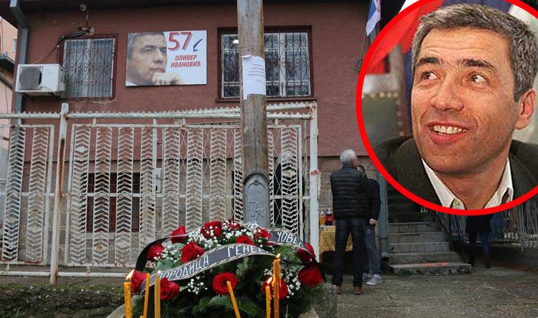 Zgrada ispred koje je izvršen atentat na Olivera Ivanovića