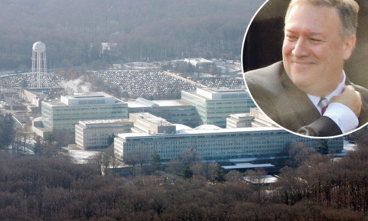 u krugu: direktor CIA-e Mike Pompeo