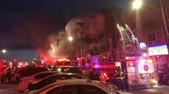 požar new york
