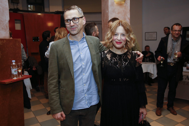 Oliver Frljić i Linda Begonja
