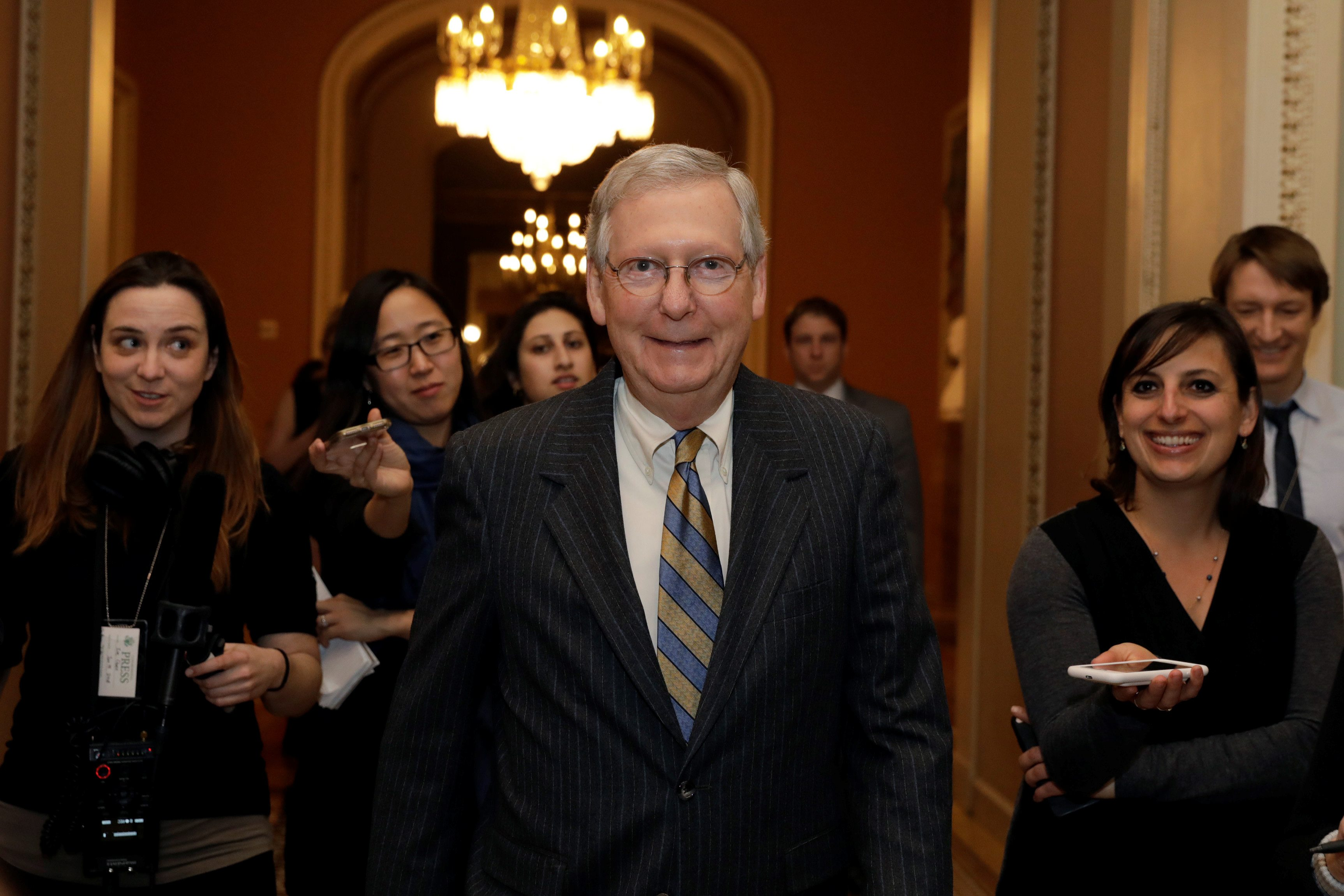 Vođa senatske republikanske većine Mitch McConnell