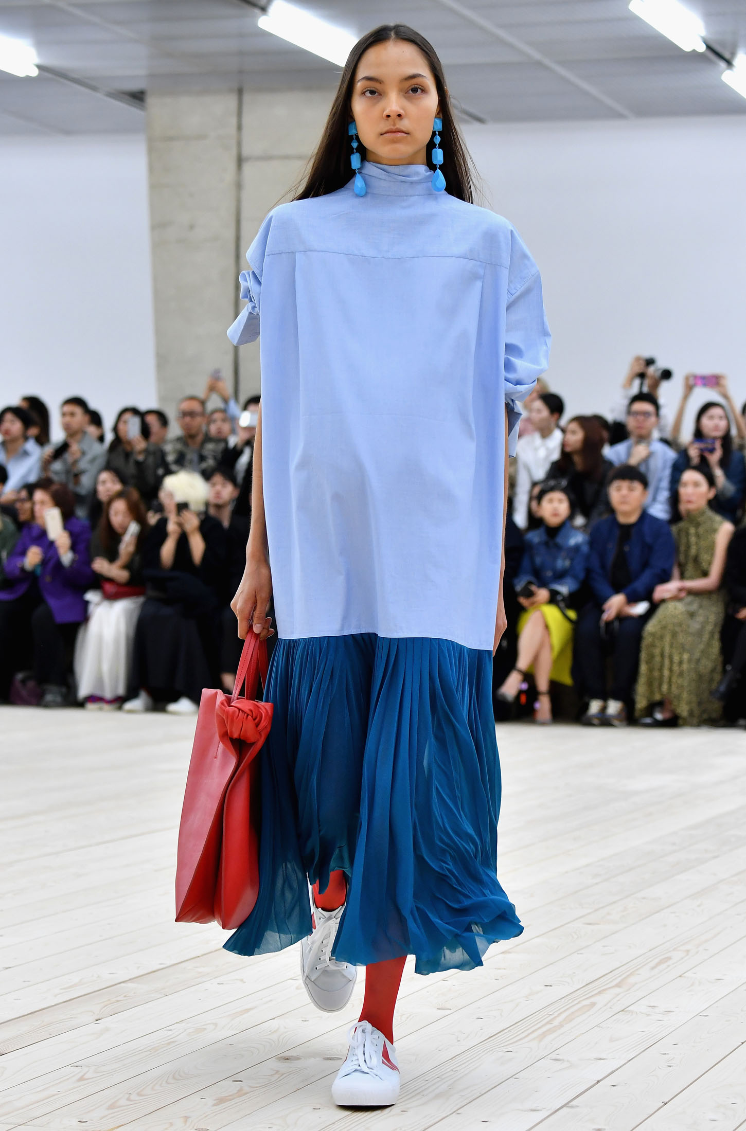PARIS, FRANCE - OCTOBER 02:  A model walks the runway during the Celine show as part of the Paris Fashion Week Womenswear Spring/Summer 2017 on October 2, 2016 in Paris, France.  (Photo by Pascal Le Segretain/Getty Images)
