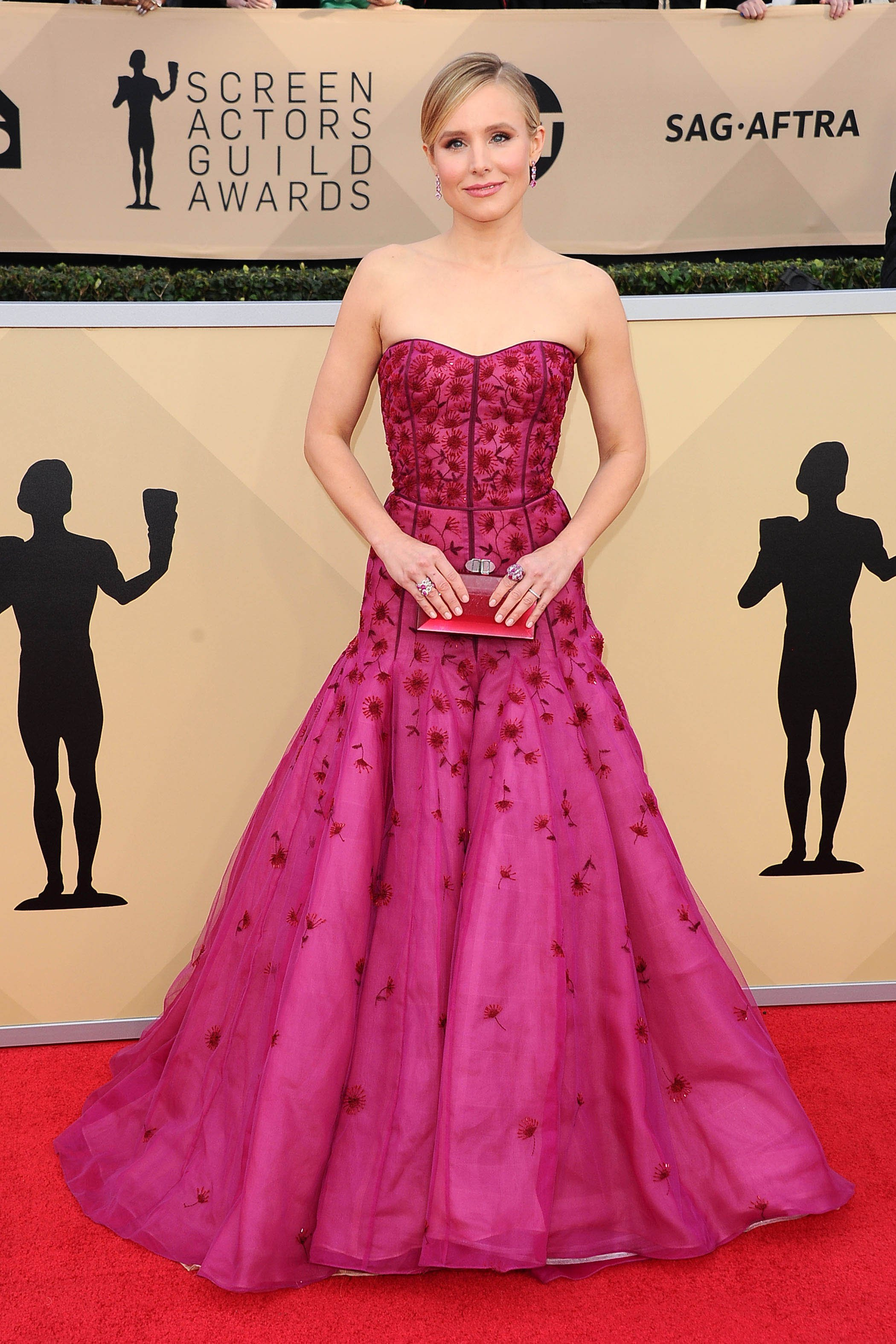 , Los Angeles, CA -20180121 - The 24th Annual Screen Actors Guild Awards at Shrine Auditorium  -PICTURED: Kristen Bell -, Image: 360896855, License: Rights-managed, Restrictions: , Model Release: no, Credit line: Profimedia, INSTAR Images