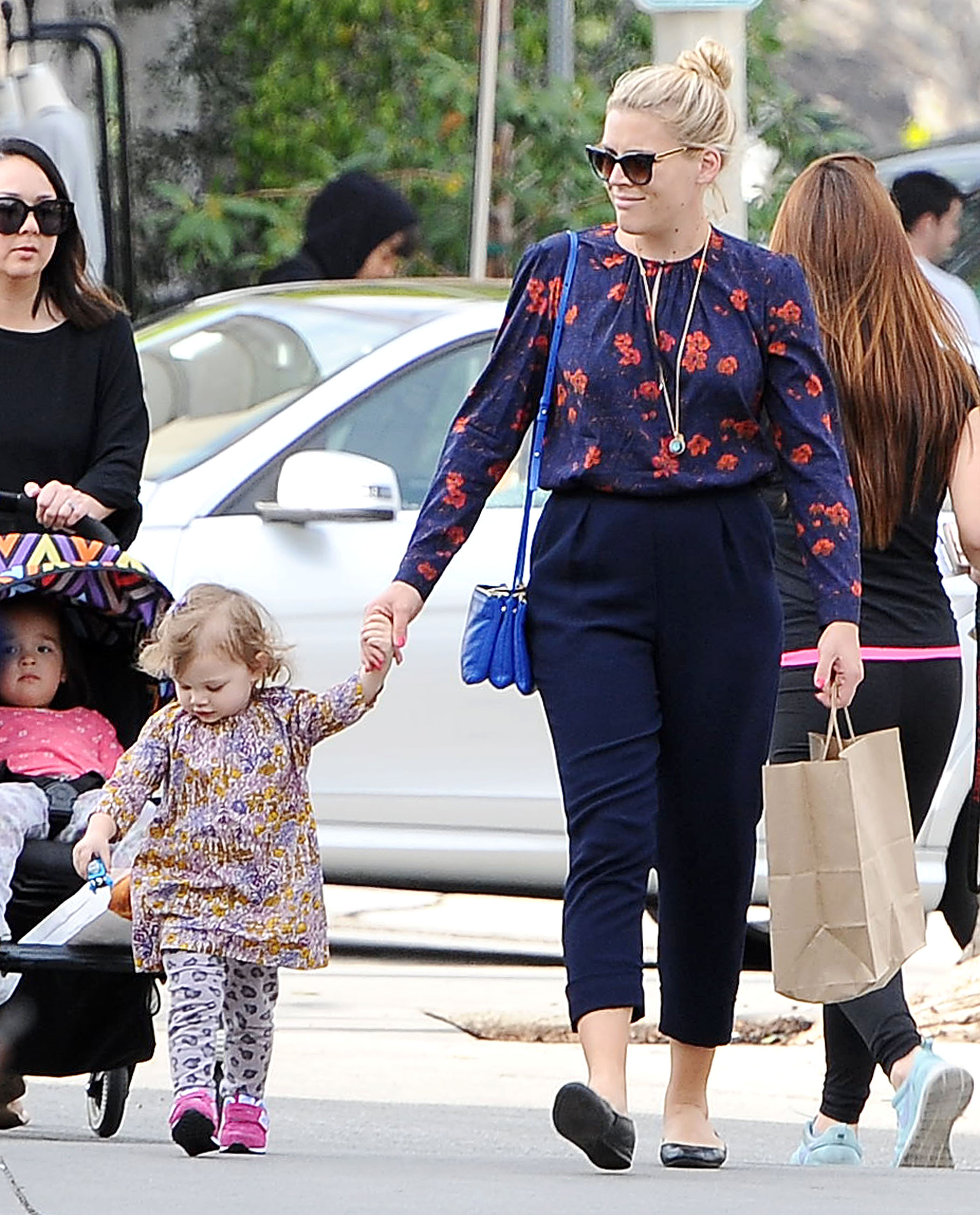 NO JUST JARED USAGE<BR/> ***NO DAILY MAIL SALES*** Busy Philipps and daughter Birdie Leigh Silverstein out and about in Los Angeles. <P> Pictured: Busy Philipps and Birdie Leigh Silverstein <B>Ref: SPL963758  260215  </B><BR/> Picture by: Splash News<BR/> </P><P> <B>Splash News and Pictures</B><BR/> Los Angeles:310-821-2666<BR/> New York:212-619-2666<BR/> London:870-934-2666<BR/> <span id=
