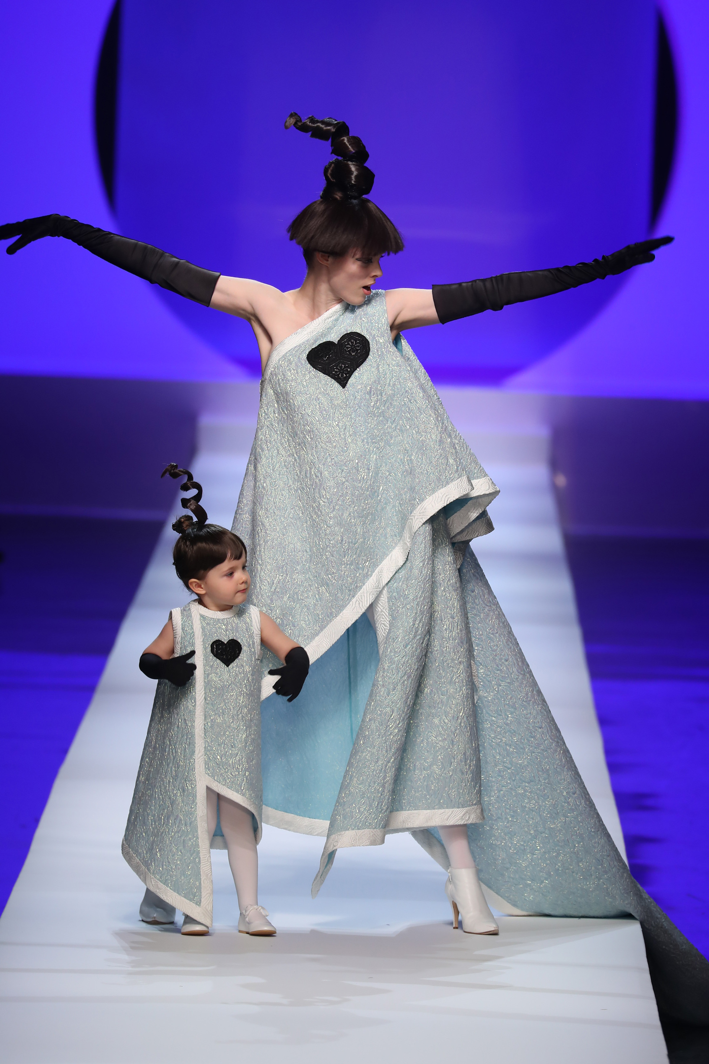 Paris/France - January 24 2018: A model walks the runway at the JEAN PAUL GAULTIER show during Paris Haute Couture Fashion Week S/S 2018 on January 24, 2018 in Paris, France. <P> Pictured: Coco Rocha <B>Ref: SPL1650124  240118  </B><BR/> Picture by: Antonio Barros / Splash News<BR/> </P><P> <B>Splash News and Pictures</B><BR/> Los Angeles:310-821-2666<BR/> New York:212-619-2666<BR/> London:870-934-2666<BR/> <span id=