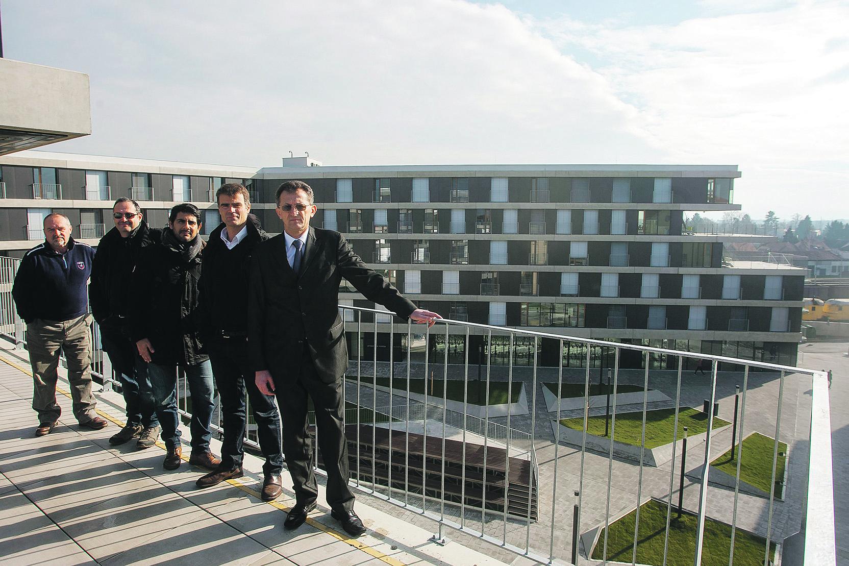 Varazdin, 230118. Novi Studentski dom u Varazdinu. Foto: Zeljko Hajdinjak / CROPIX