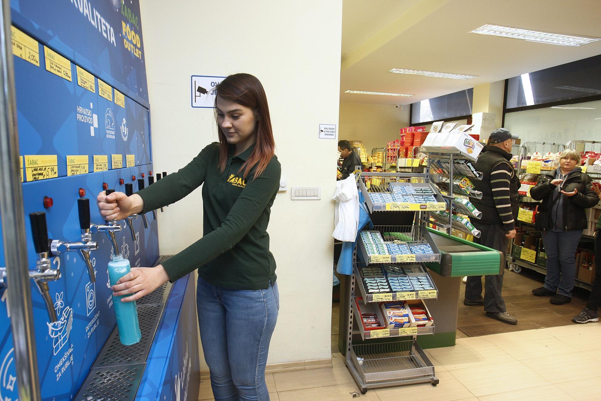 Deterdženomat u Food outletu Žabac,Tratinska ulica