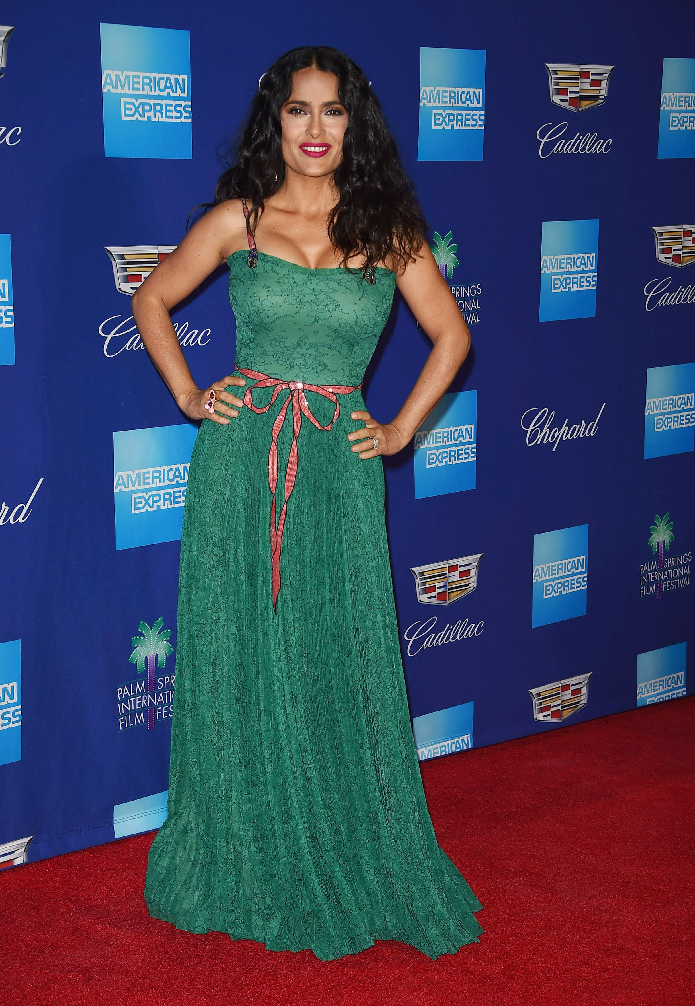 , Palm Springs, CA - 01/02/18 - The 29th Palm Springs International Film Festival Awards Gala -PICTURED: Salma Hayek -, Image: 359090548, License: Rights-managed, Restrictions: , Model Release: no, Credit line: Profimedia, INSTAR Images