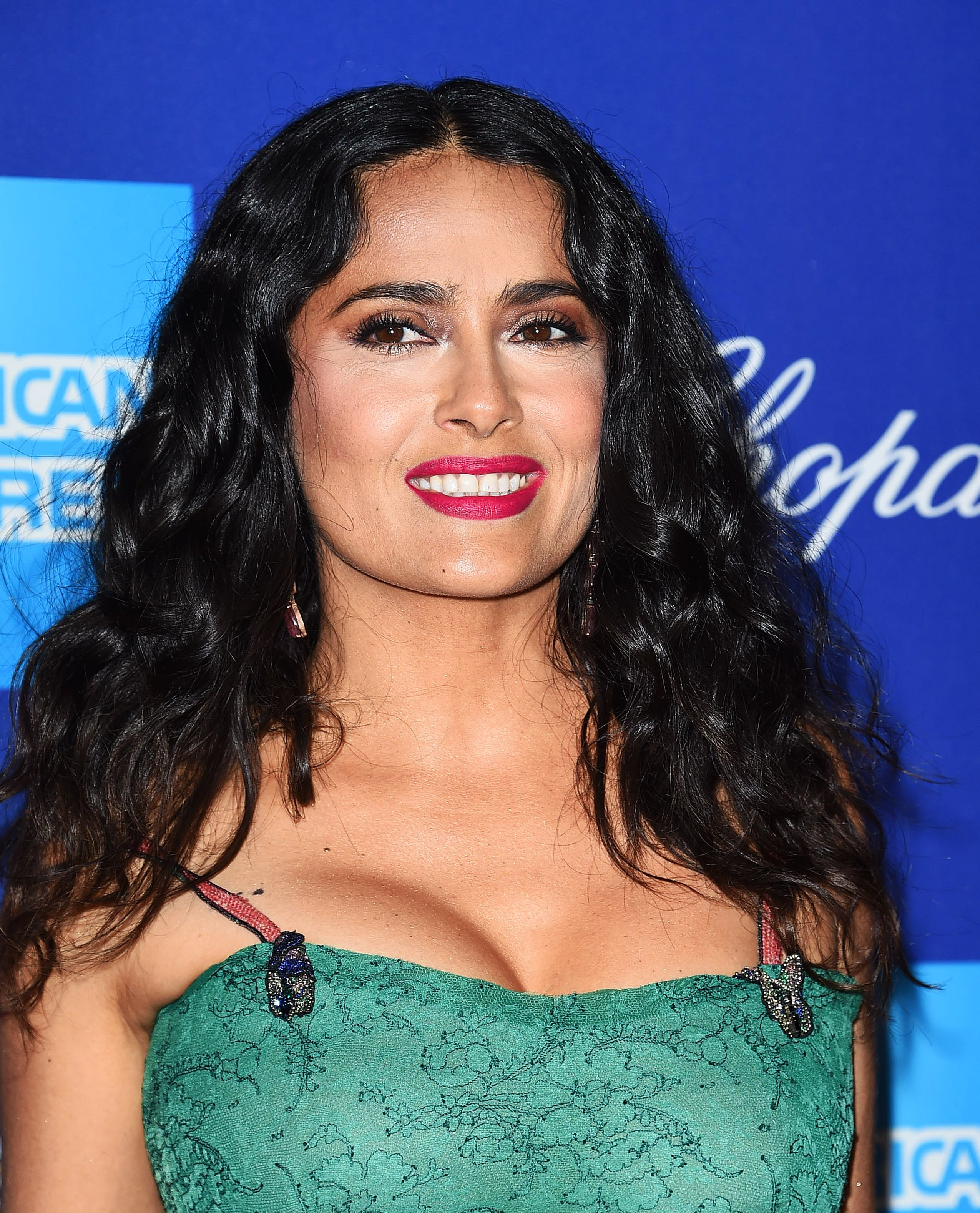 , Palm Springs, CA - 01/02/18 - The 29th Palm Springs International Film Festival Awards Gala -PICTURED: Salma Hayek -, Image: 359090904, License: Rights-managed, Restrictions: , Model Release: no, Credit line: Profimedia, INSTAR Images