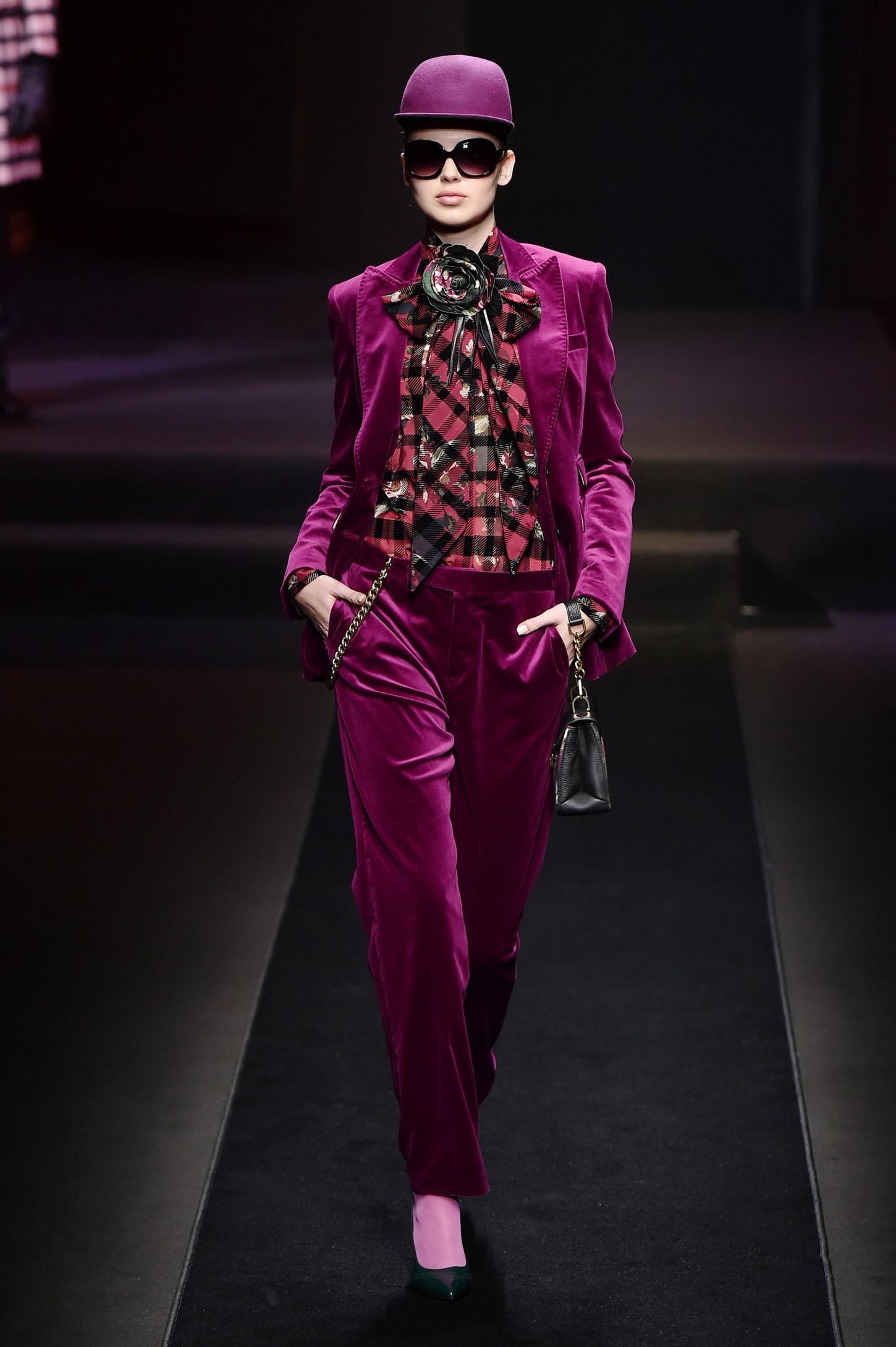 Revija Daks na Tjednu muške mode u Milanu gdje su prikazani i komadi iz ženske kolekcije za jesen 2018.