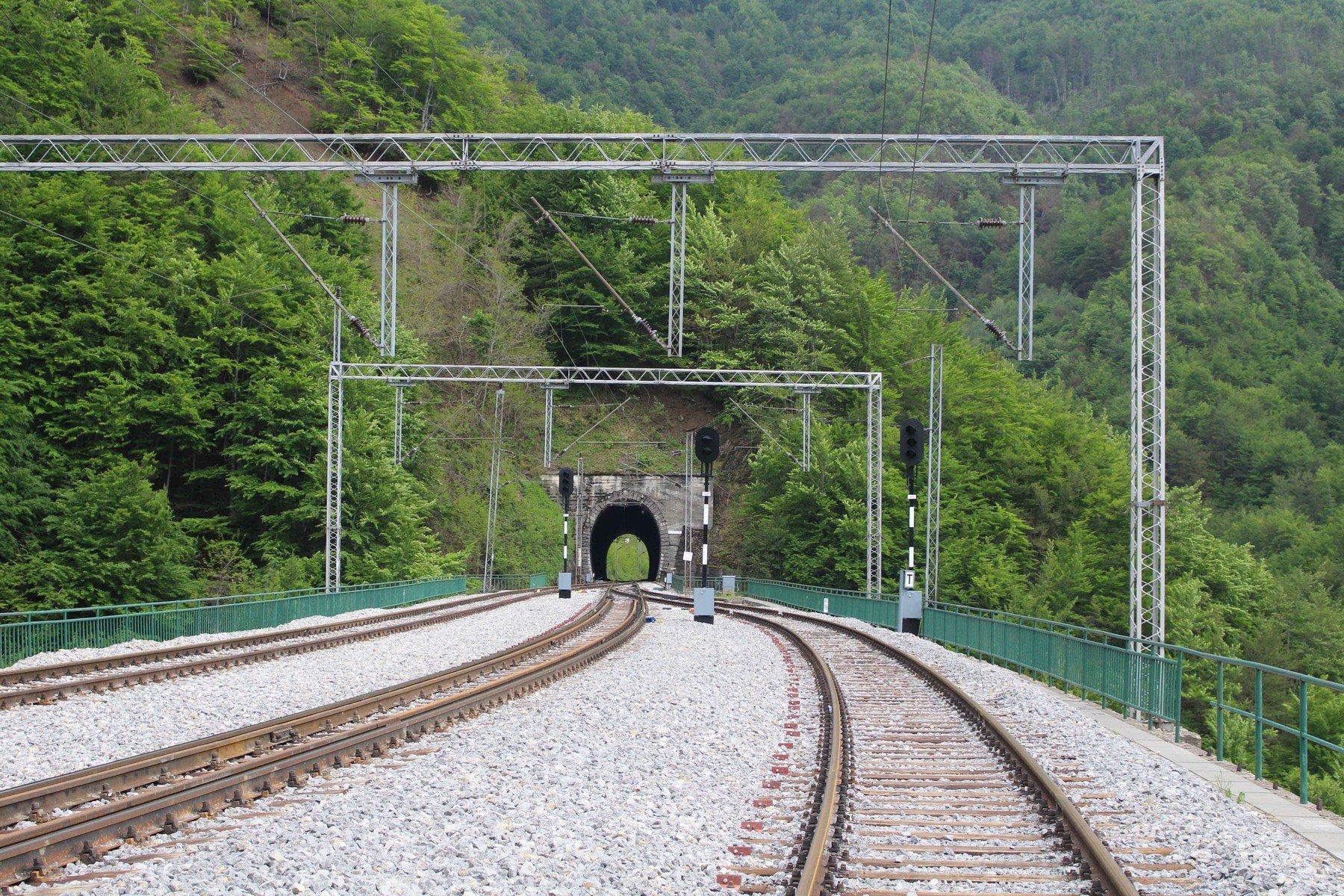 Ilustracija, pruga u Crnoj Gori
