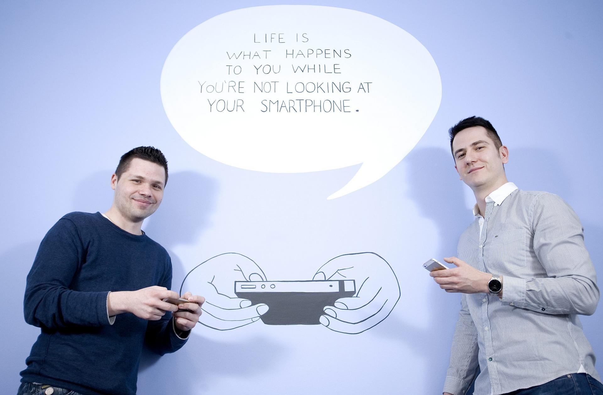 Alan Sumina i Zoran Gucinic, vlasnici tvrtke Nanobit koja se bavi razvojem softvera za mobilne igre