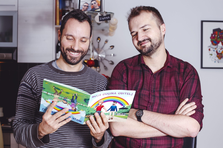 autori slikovnice Ivo Šegota i Daniel Martinović