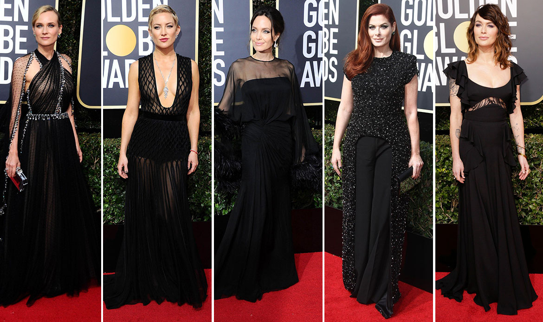 Diane Kruger, Kate Hudson, Angelina Jolie, Debra Messing, Lena Headey