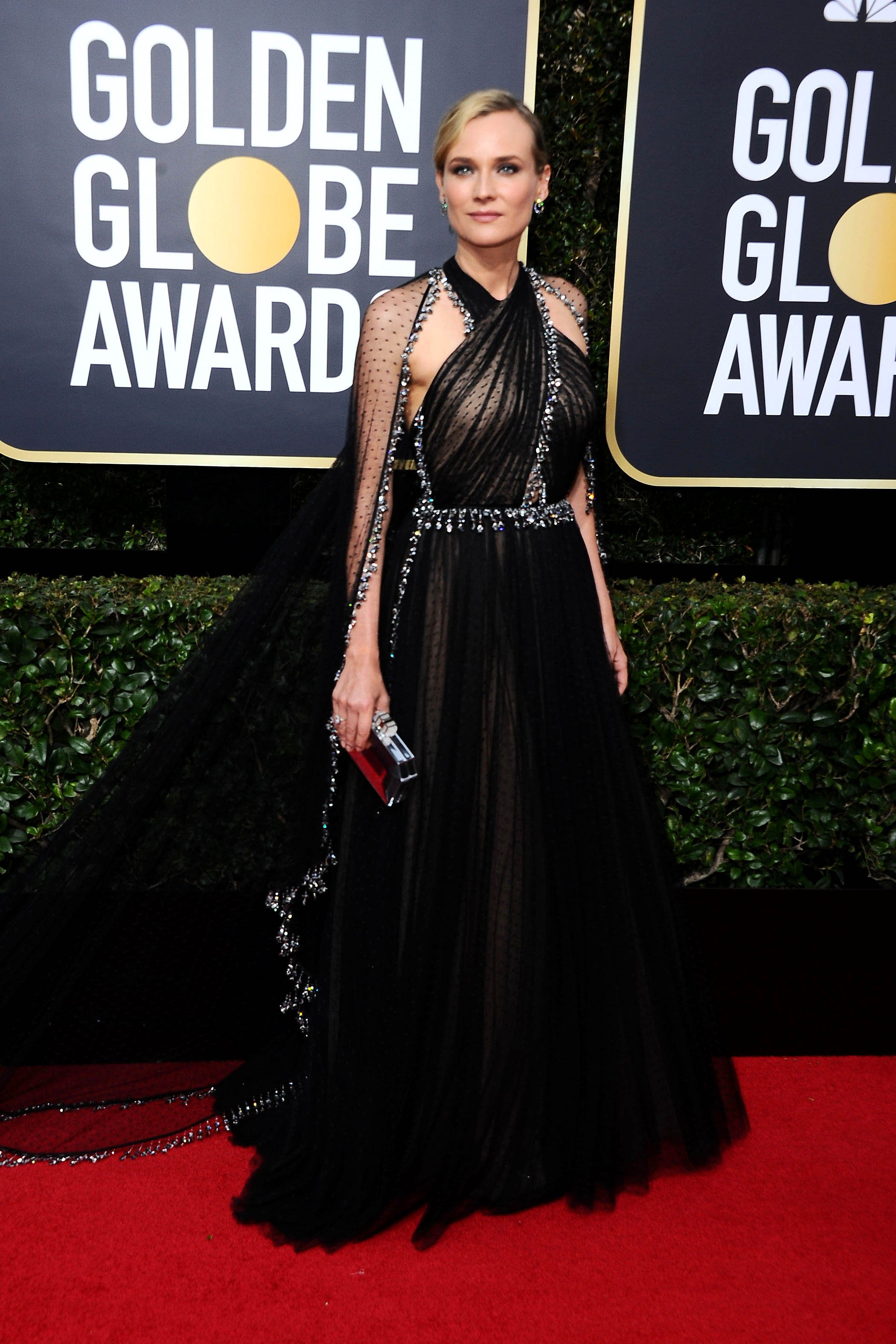 , Beverly Hills, CA -20180107 - The 75th Golden Globe Awards - Arrivals at The Beverly Hilton  -PICTURED: Diane Kruger -, Image: 359496153, License: Rights-managed, Restrictions: , Model Release: no, Credit line: Profimedia, INSTAR Images