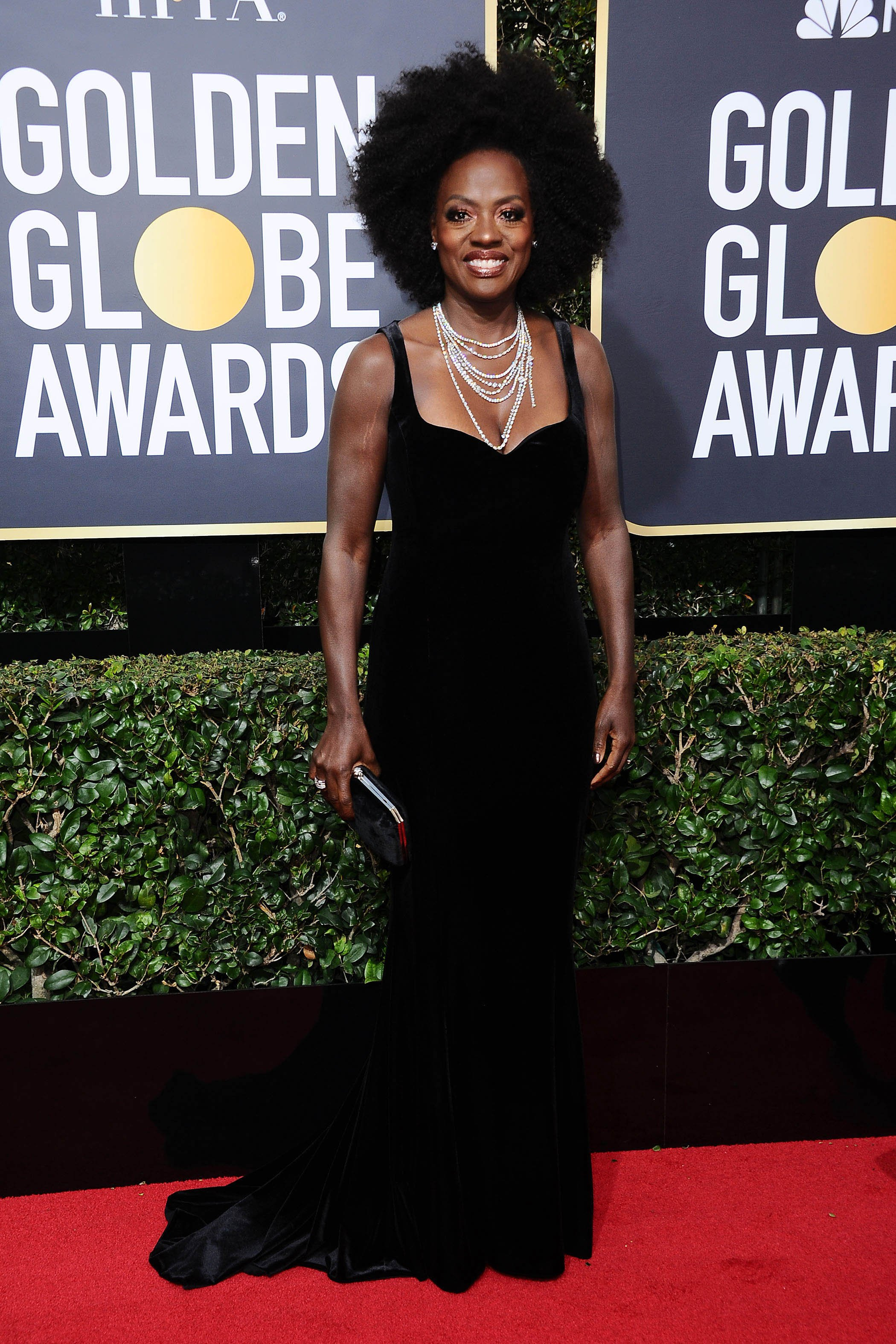 , Beverly Hills, CA -20180107 - The 75th Golden Globe Awards - Arrivals at The Beverly Hilton  -PICTURED: Viola Davis -, Image: 359498089, License: Rights-managed, Restrictions: , Model Release: no, Credit line: Profimedia, INSTAR Images