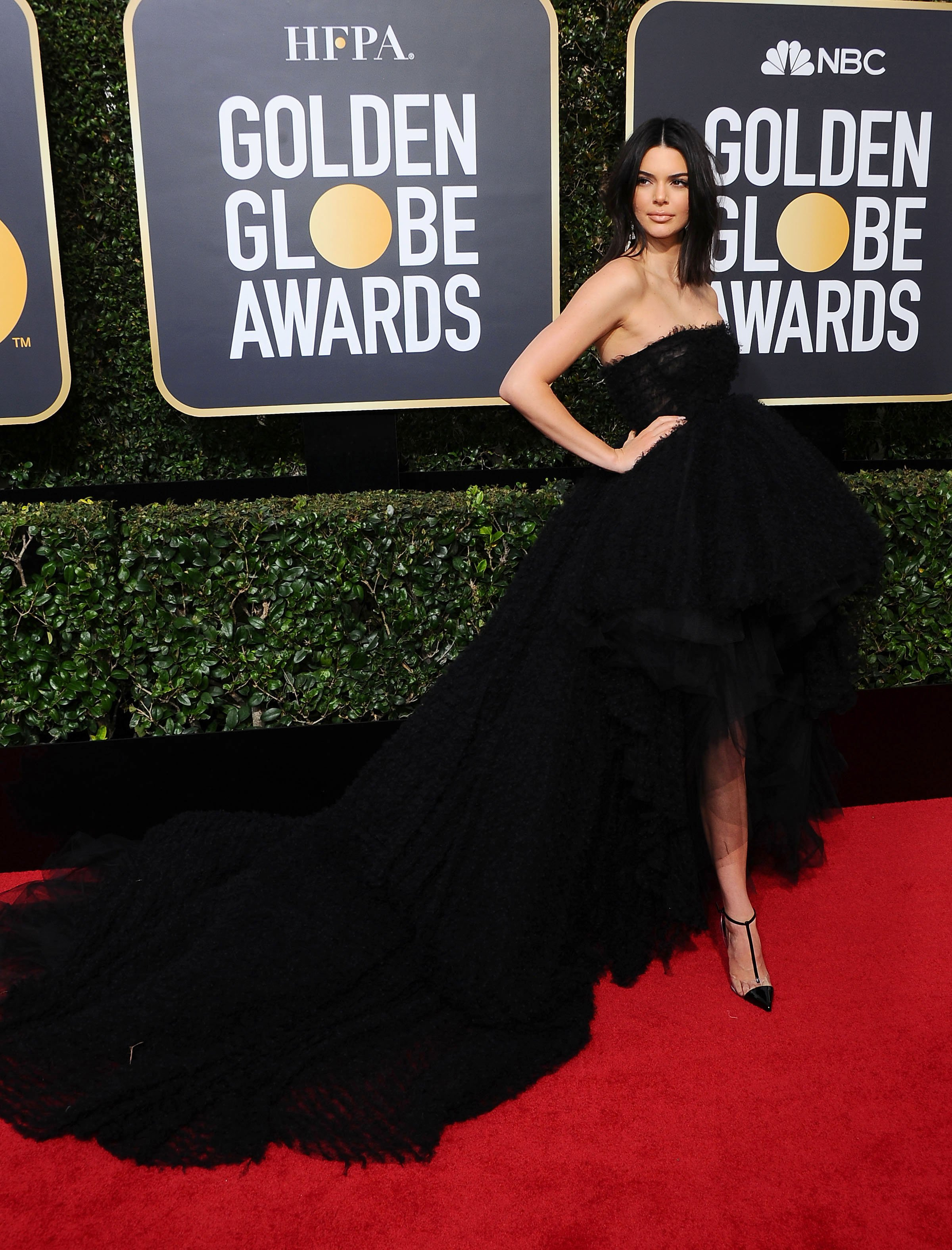 , Beverly Hills, CA -20180107 - The 75th Golden Globe Awards - Arrivals at The Beverly Hilton  -PICTURED: Kendall Jenner -, Image: 359494045, License: Rights-managed, Restrictions: , Model Release: no, Credit line: Profimedia, INSTAR Images