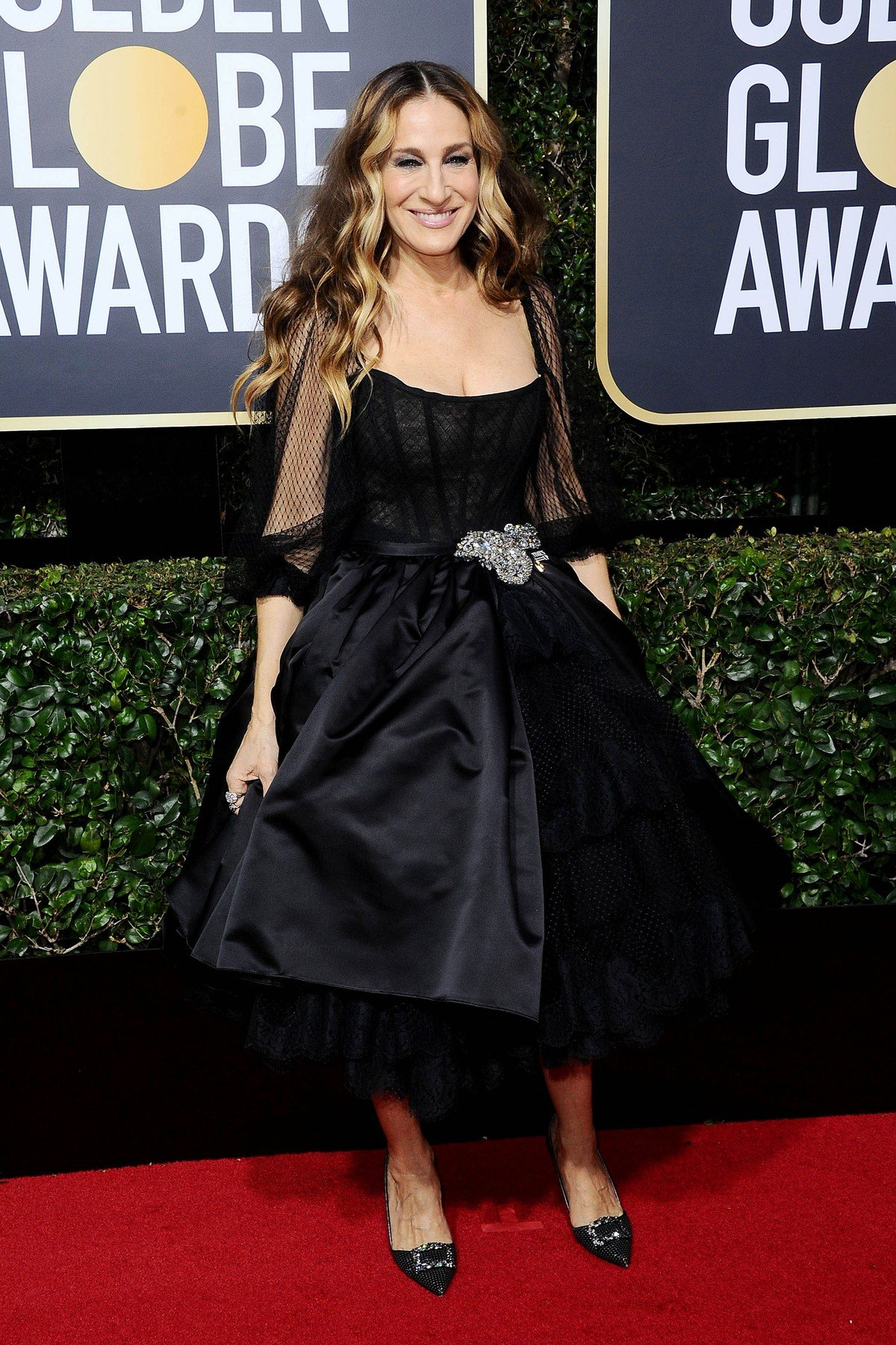 , Beverly Hills, CA -20180107 - The 75th Golden Globe Awards - Arrivals at The Beverly Hilton  -PICTURED: Sarah Jessica Parker -, Image: 359507906, License: Rights-managed, Restrictions: , Model Release: no, Credit line: Profimedia, INSTAR Images