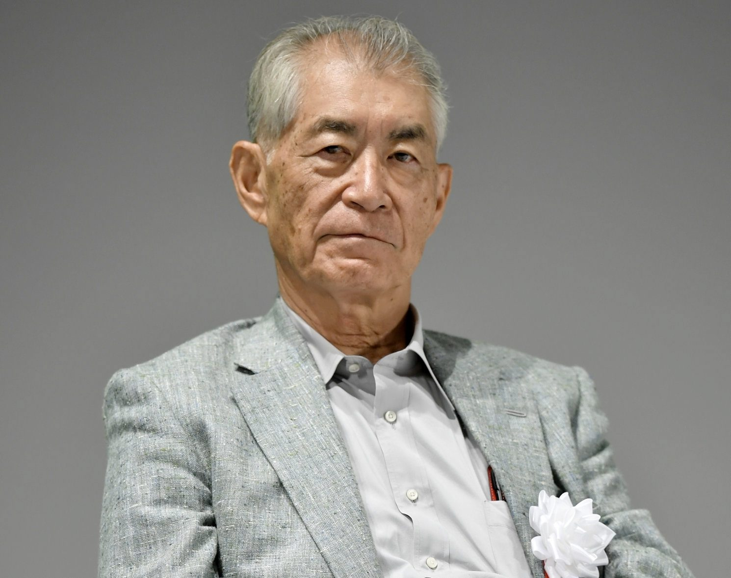 Kyoto University Professor Tasuku Honjo is pictured in Kyoto, Japan in this photo taken by Kyodo September 17, 2018. Picture taken September 17, 2018. Mandatory credit Kyodo/via REUTERS ATTENTION EDITORS - THIS IMAGE WAS PROVIDED BY A THIRD PARTY. MANDATORY CREDIT. JAPAN OUT. THIS IMAGE WAS PROCESSED BY REUTERS TO ENHANCE QUALITY, AN UNPROCESSED VERSION HAS BEEN PROVIDED SEPARATELY.