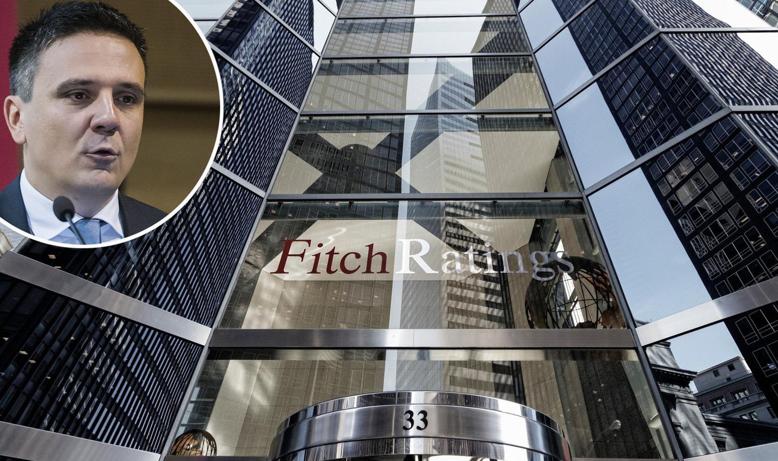 Zgrada kreditne agencije Fitch i Hrvoje Stojić u krugu