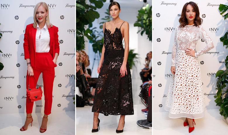 Jelena Rozga, jedan od modela nove kolekcije modnog dvojca eNVy Room, Tatjana Jurić