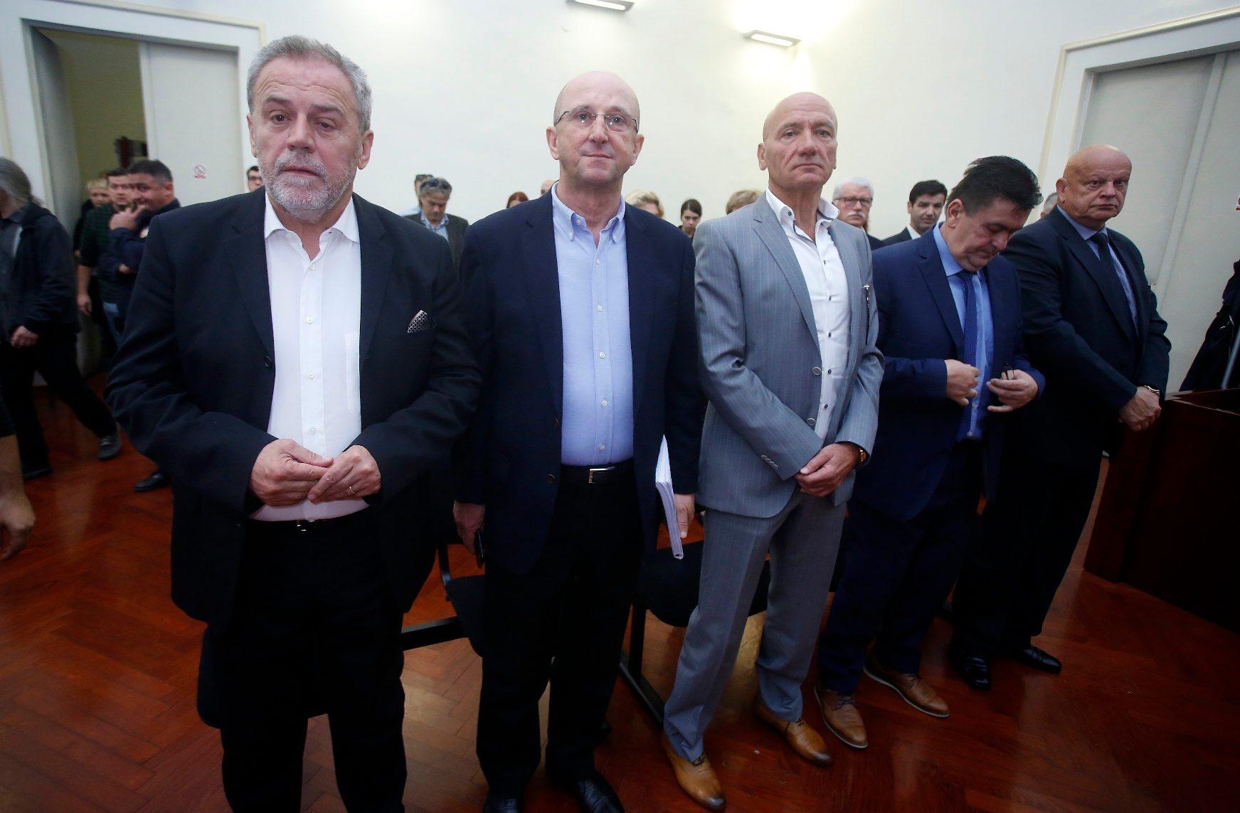 Arhivska fotografija: Milan Bandić, Slobodan Ljubičić Kikaš, Petar Pripuz, Ivan Tolić, Miljenko Benko
