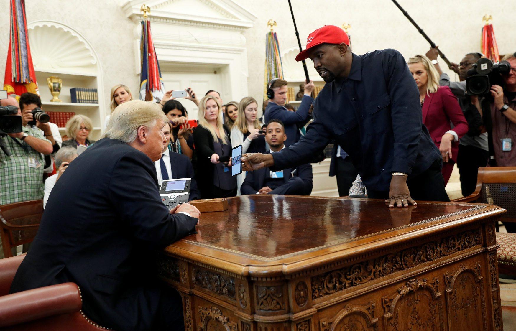 Donald Trump i Kanye West