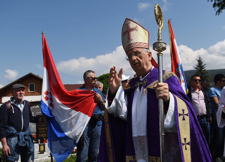 Zadarski nadbiskup i predsjednik HBK msgr. Želimir Puljić