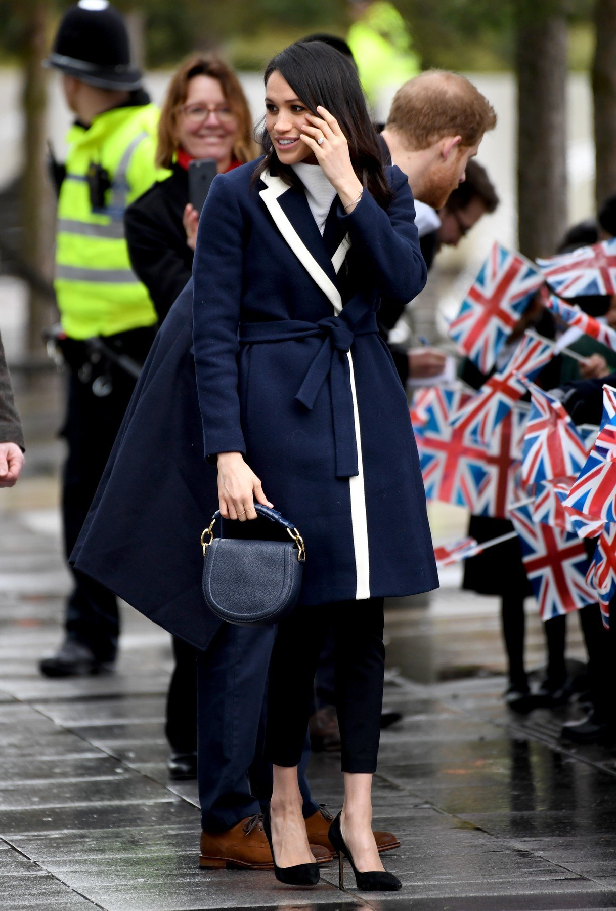Meghan Markle during a visit to Millennium Point in Birmingham., Image: 365486430, License: Rights-managed, Restrictions: , Model Release: no, Credit line: Profimedia, Press Association