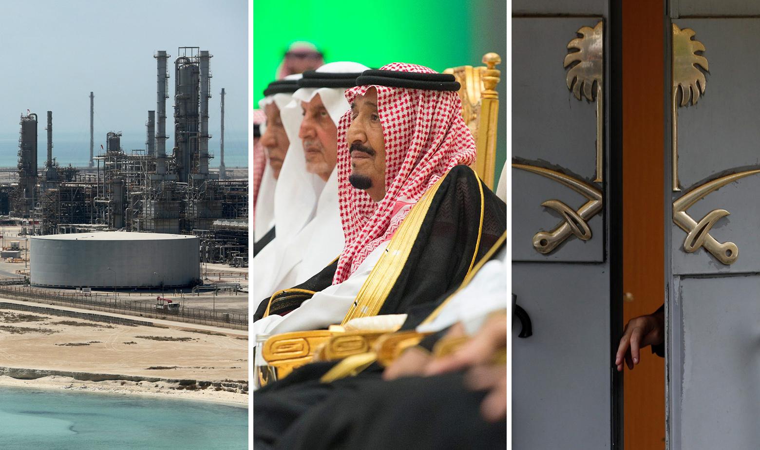 Rafinerija nafte Res Tanura, saudijski kralj Salman i vrata saudijske ambasade u Turskoj