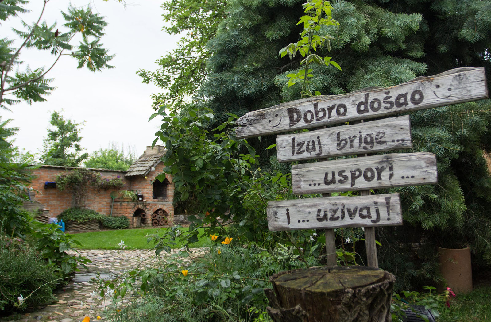 Cepin, 040718 Vrtna bajka, vrt Zdenke i Zeljka Matagic u Cepinu. Na fotografiji: Vrtna bajka u Cepinu. Foto: Emica Elvedji / CROPIX