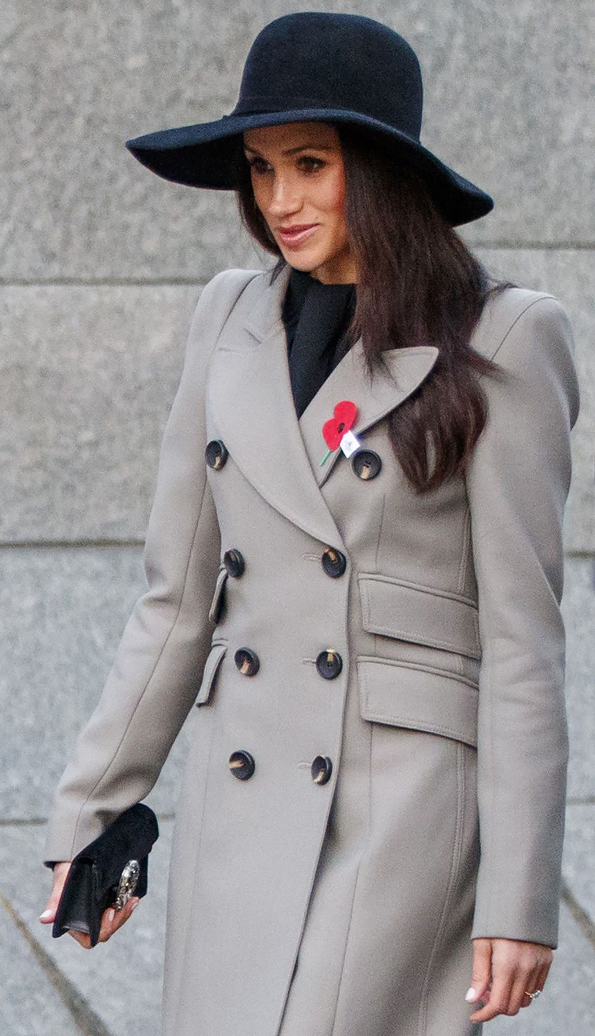Meghan Markle is absolutely stunning as she attends the Anzac Day Service of Commemoration and Thanksgiving with Prince William and Prince Harry, at Westminster Abbey, London, UK. April 25, 2018 X17online.com USA ONLY